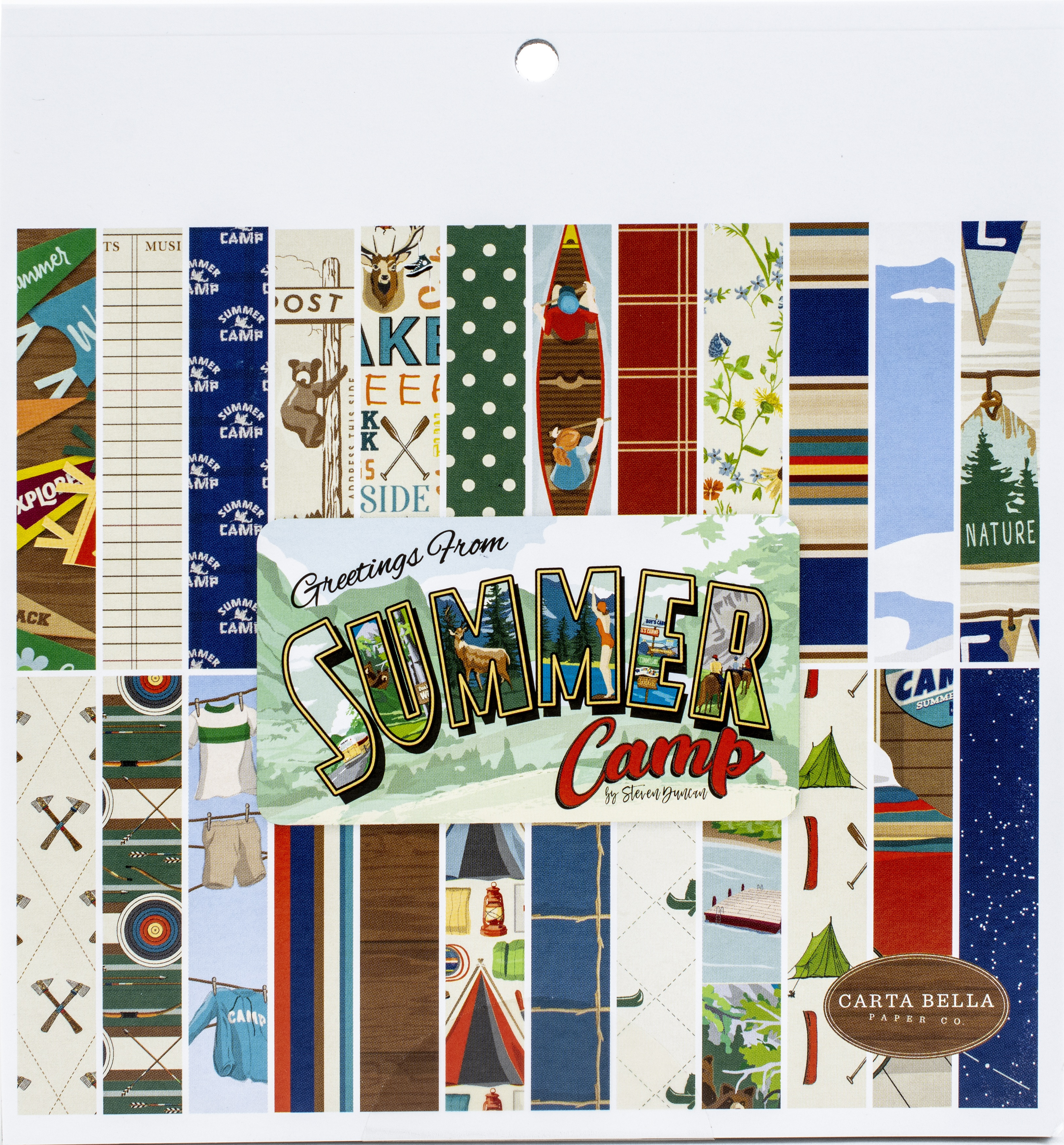 Summer Camp 6x6 Paper Pad