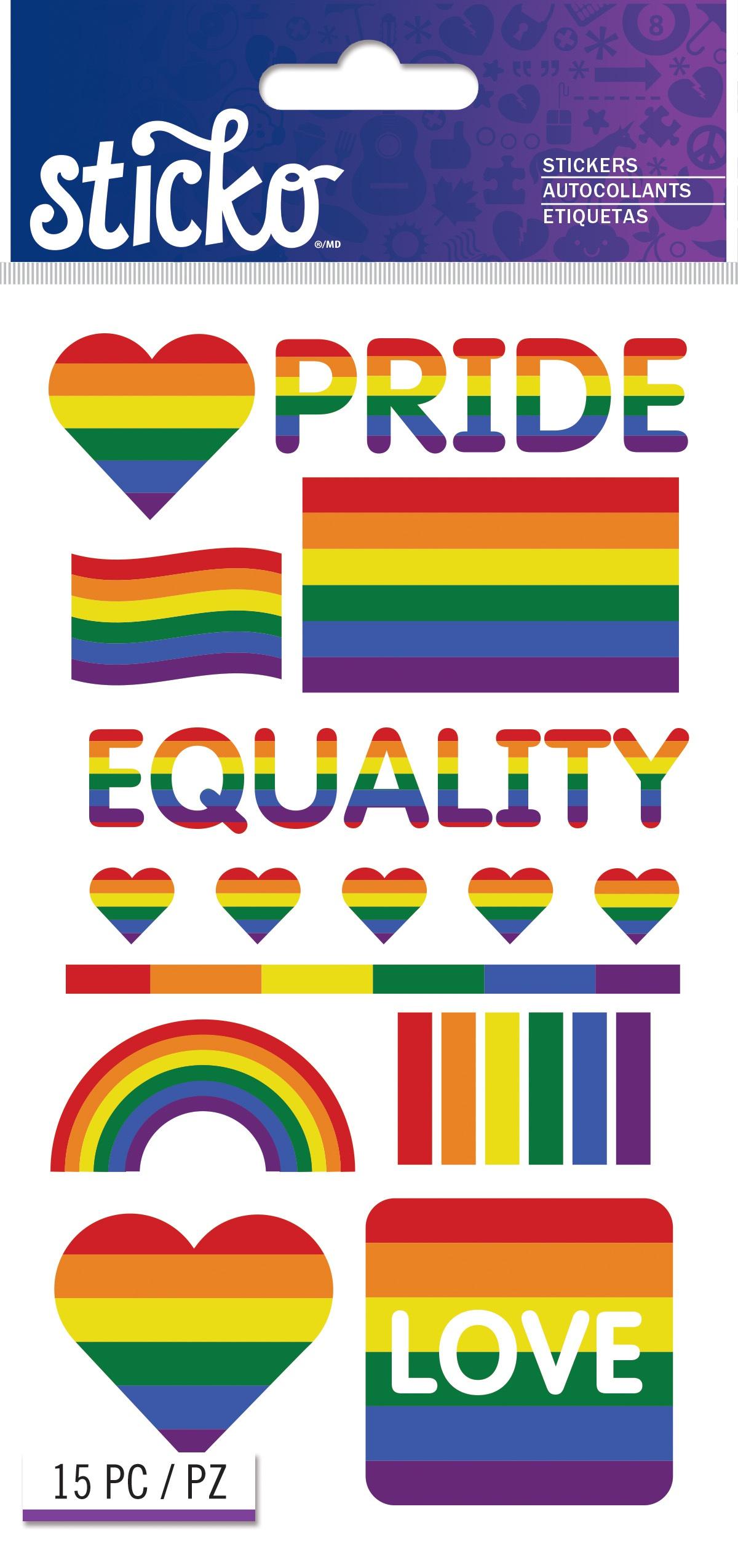 Sticko Stickers-Pride
