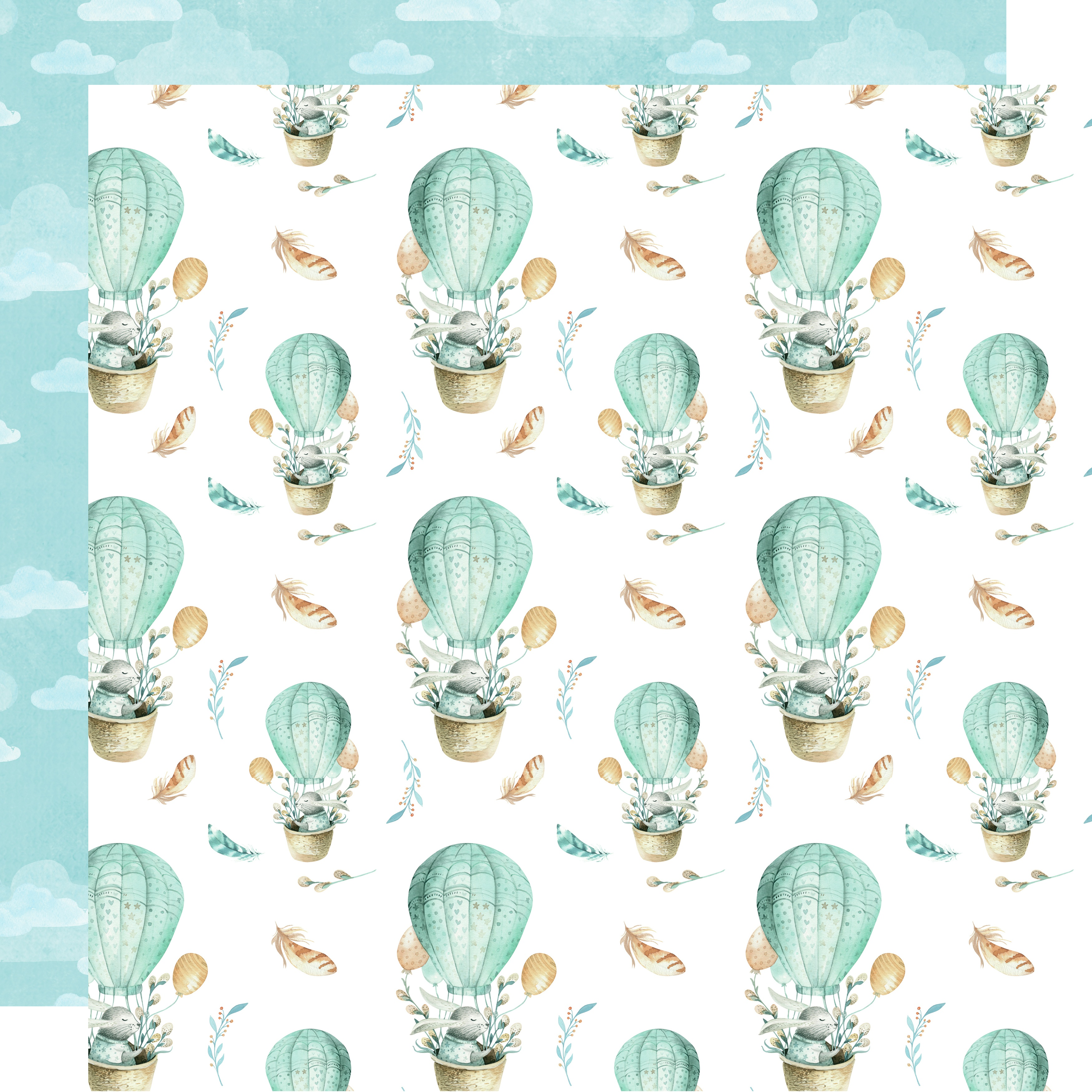 Kaisercraft - Little Treasures - DREAMLAND - 12X12 Double-Sided Paper