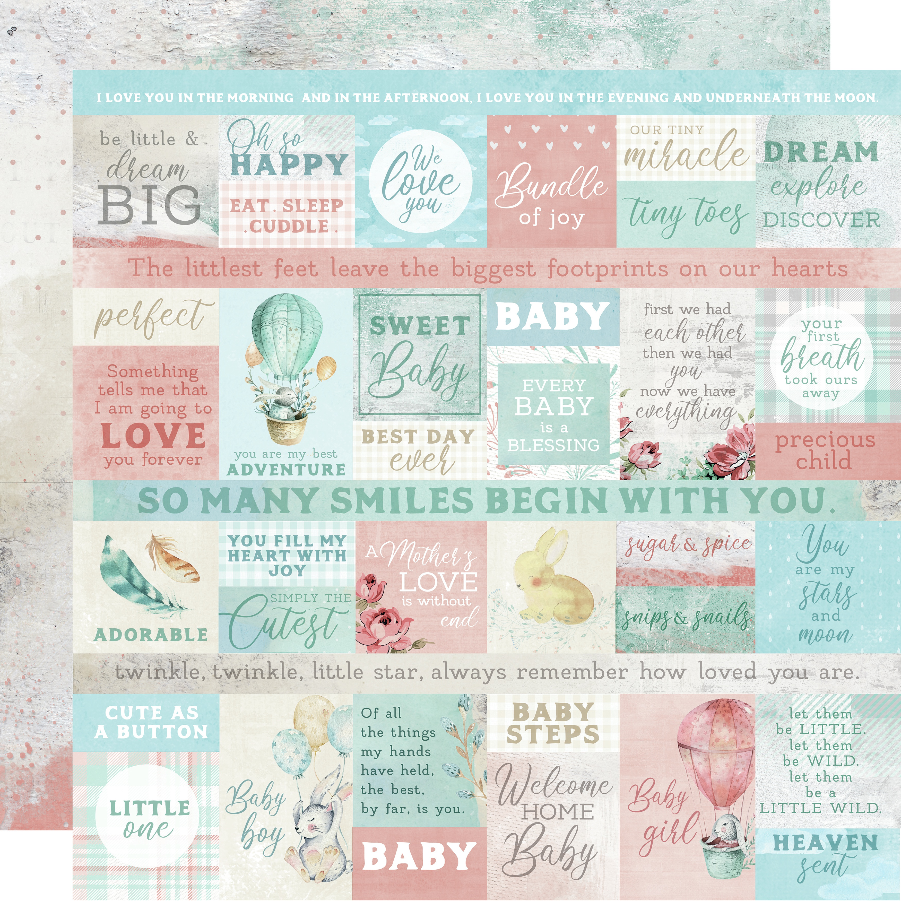 Little Treasures Mother's Love Paper