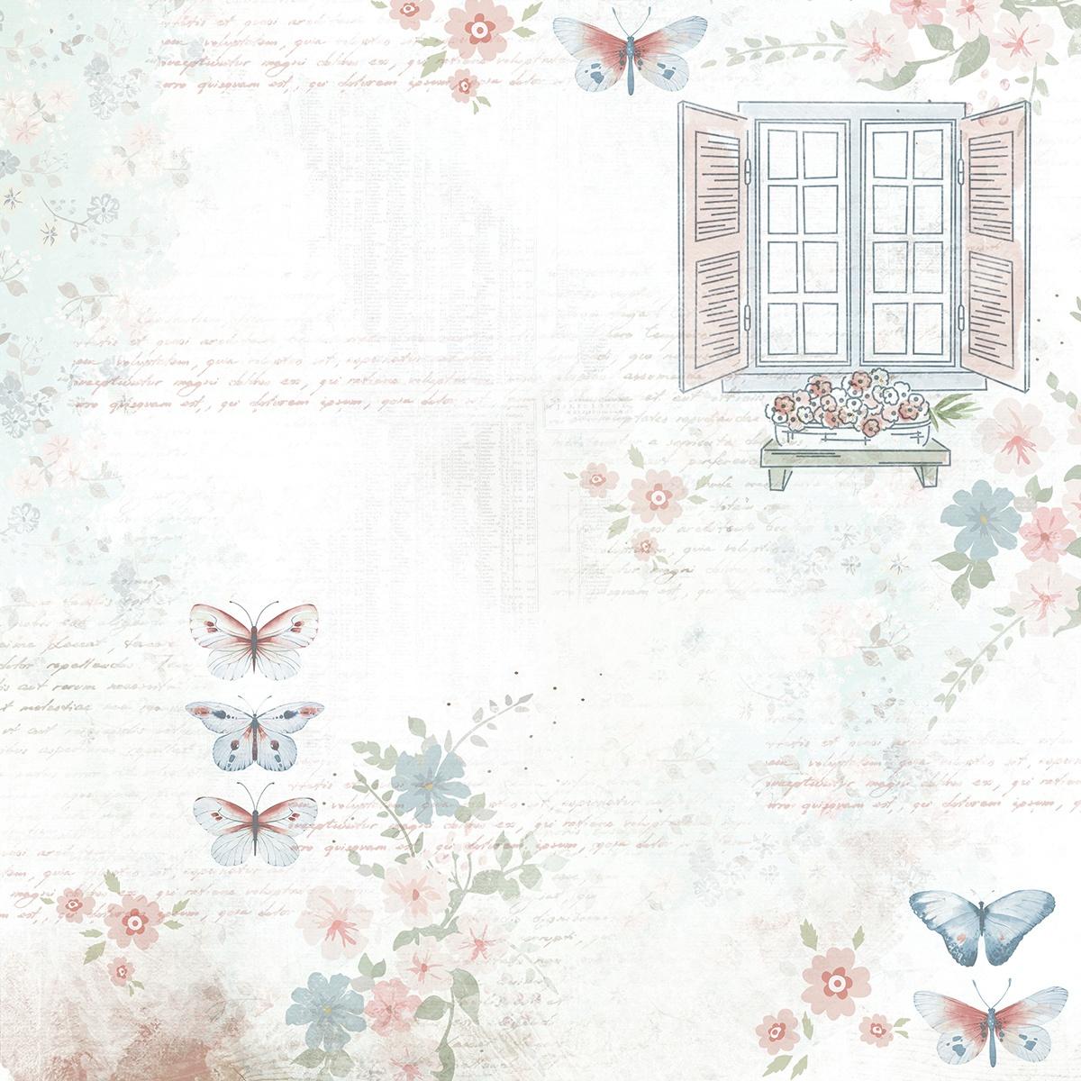 Flower Shoppe Sunroom Paper