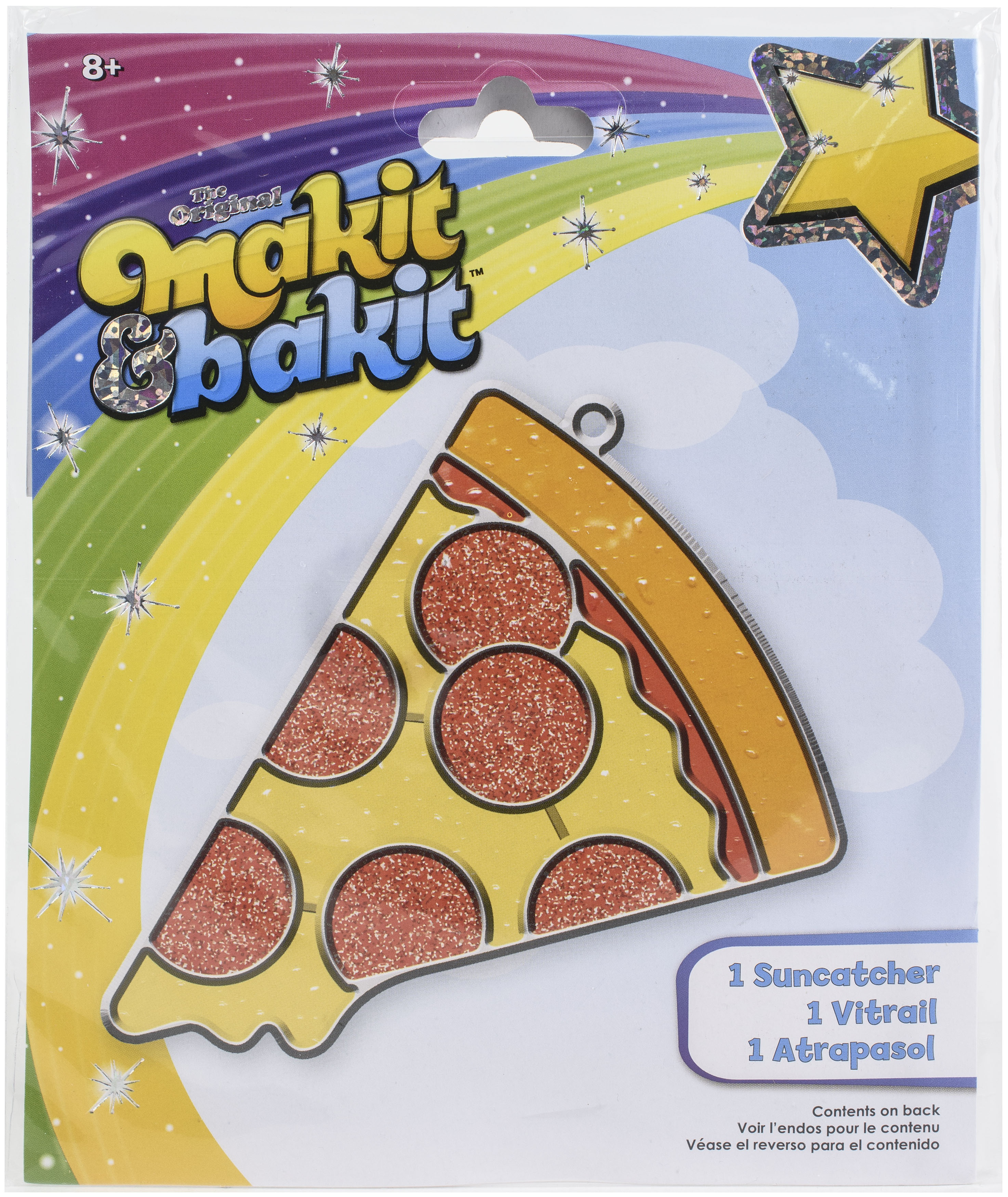 Makit & Bakit Suncatcher Kit-Pizza