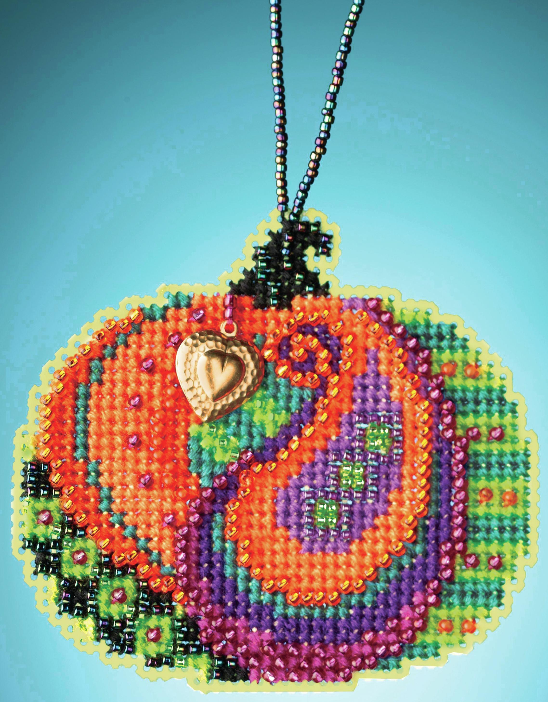 Persian Pumpkin counted cross stitch kit