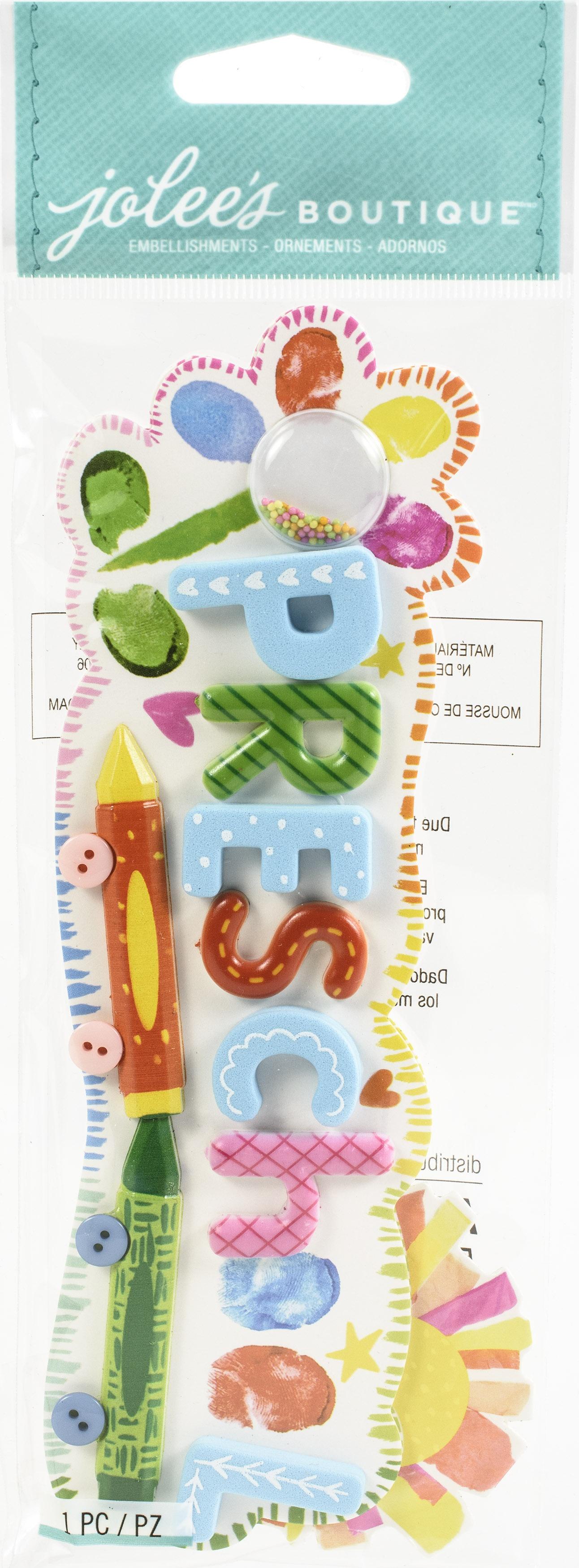 Preschool 3D Stickers