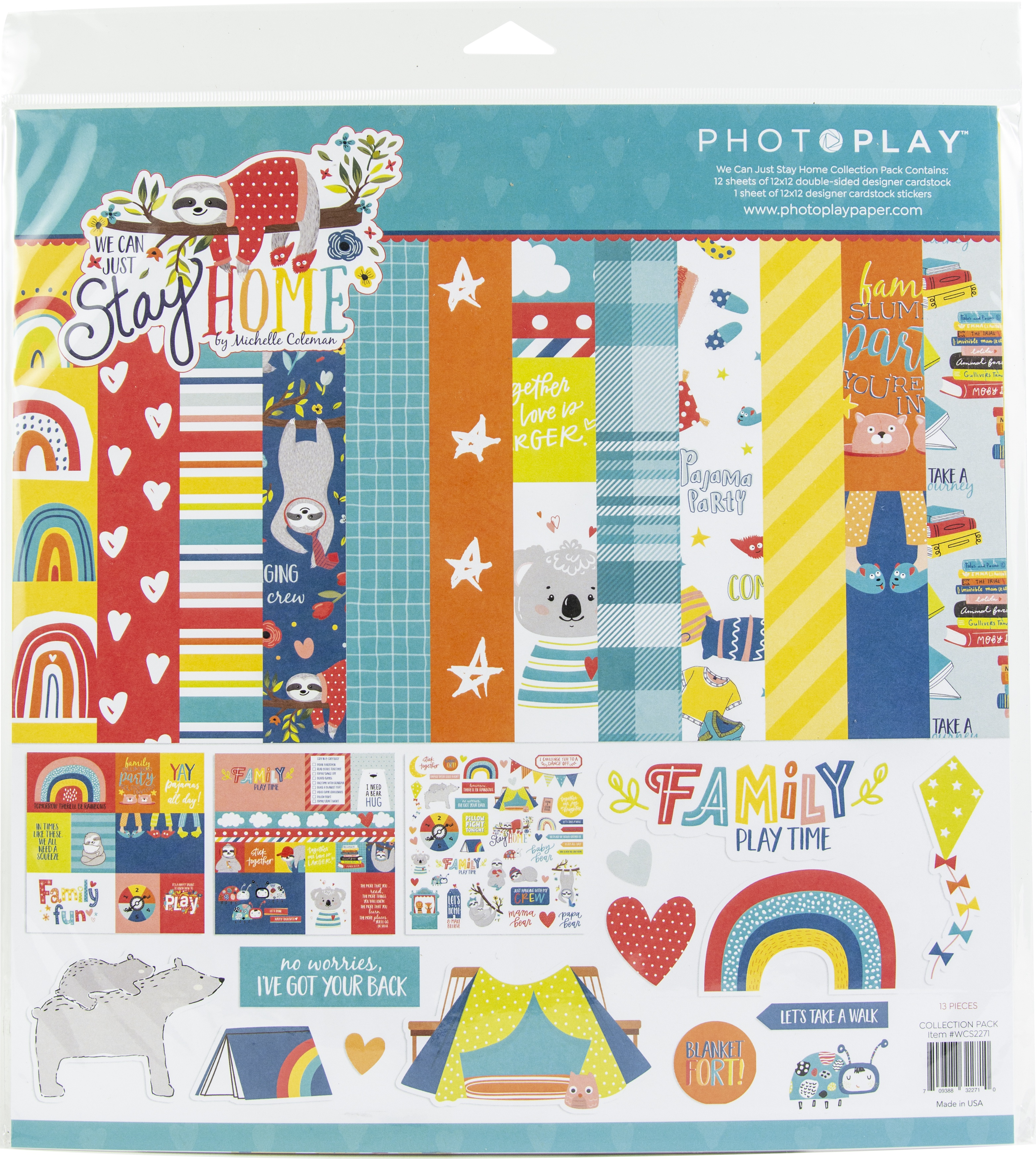 We Can Just Stay Home PhotoPlay Collection Pack 12X12-