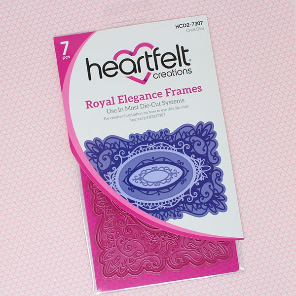 Heartfelt Creations Majestic Frames Cut & Emboss Dies-Royal Elegance Frames
