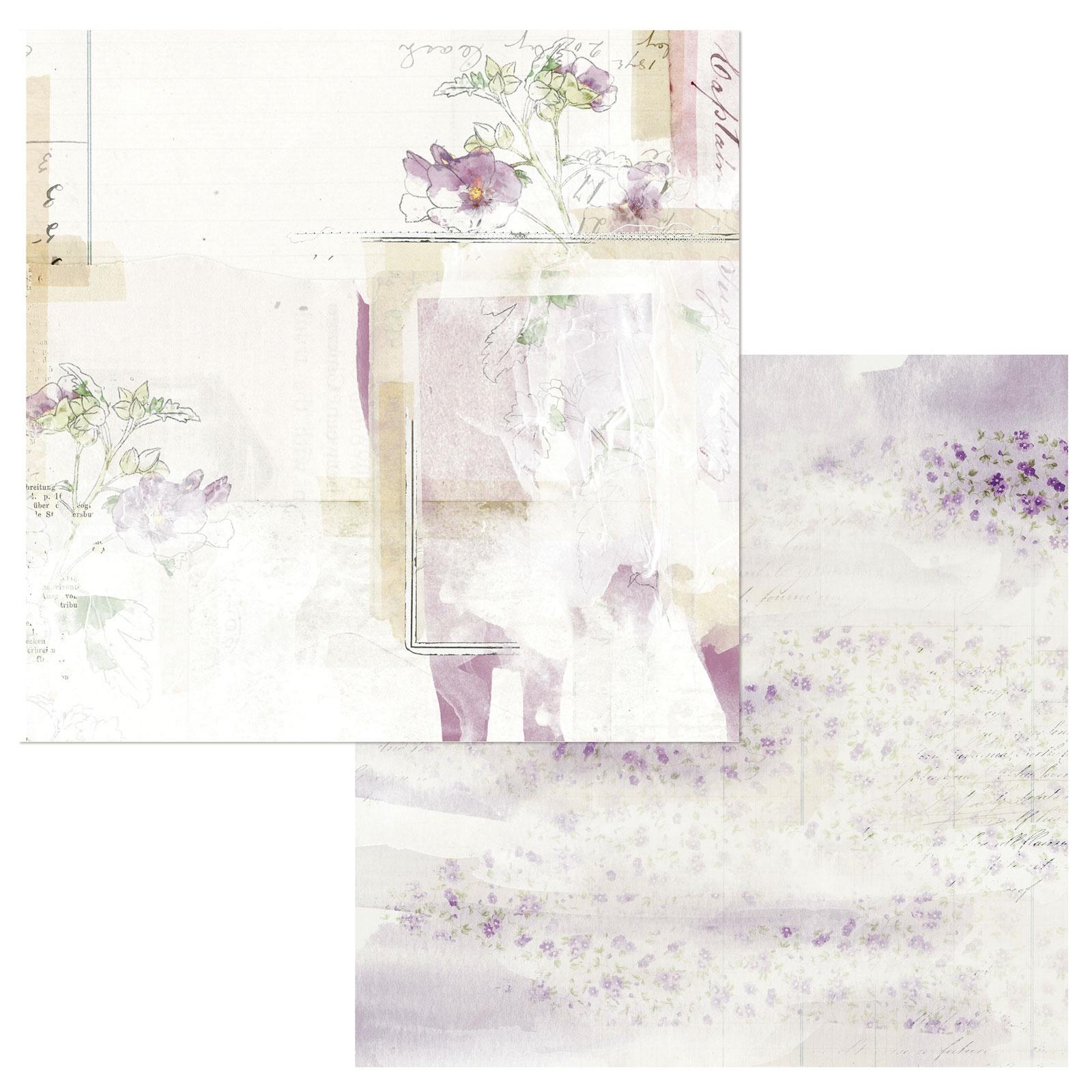 Vintage Artistry in Lilac - Ingenue