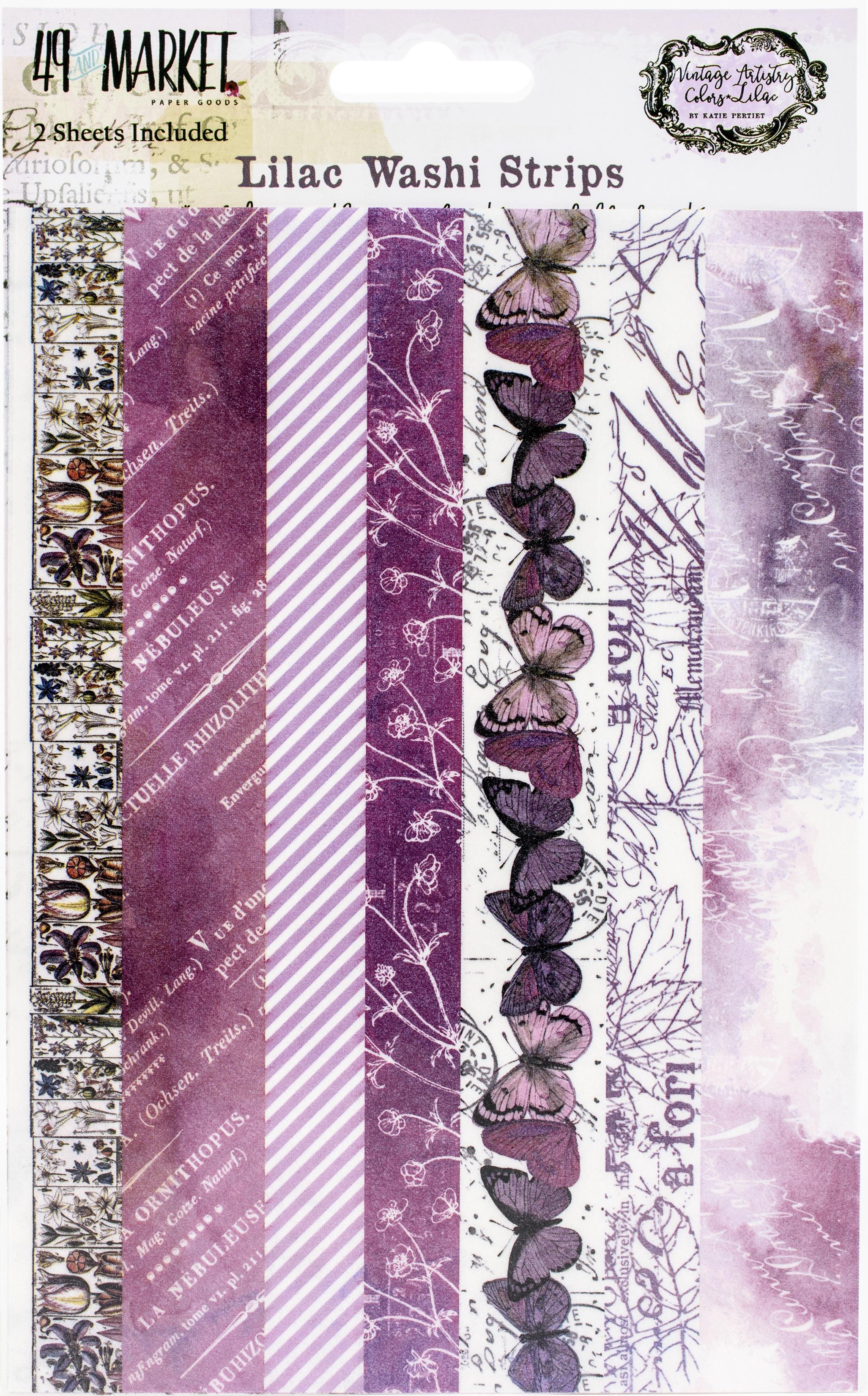 Vintage Artistry Lilac Tape