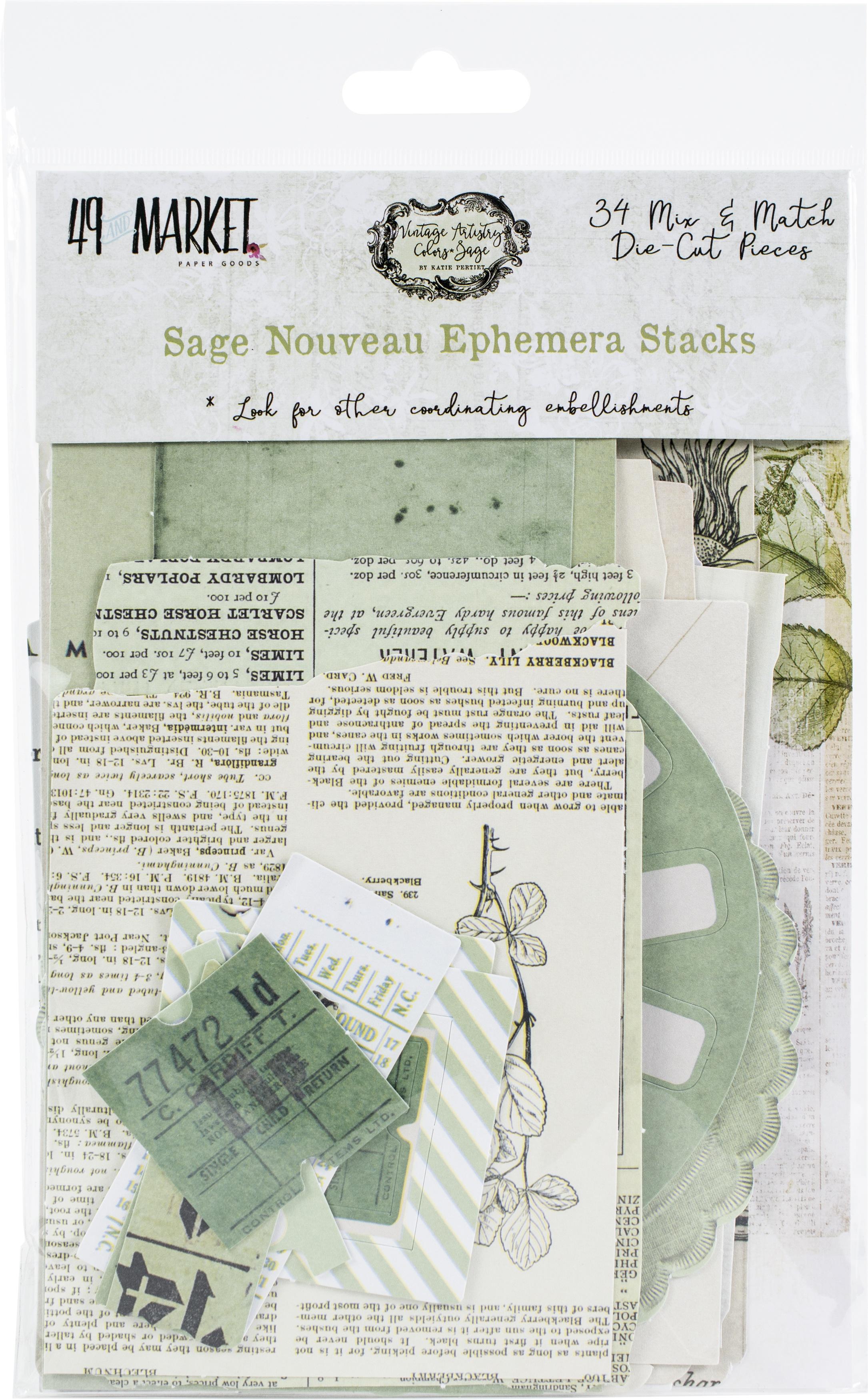 49 And Market - Sage Nouveau Ephemera Stacks