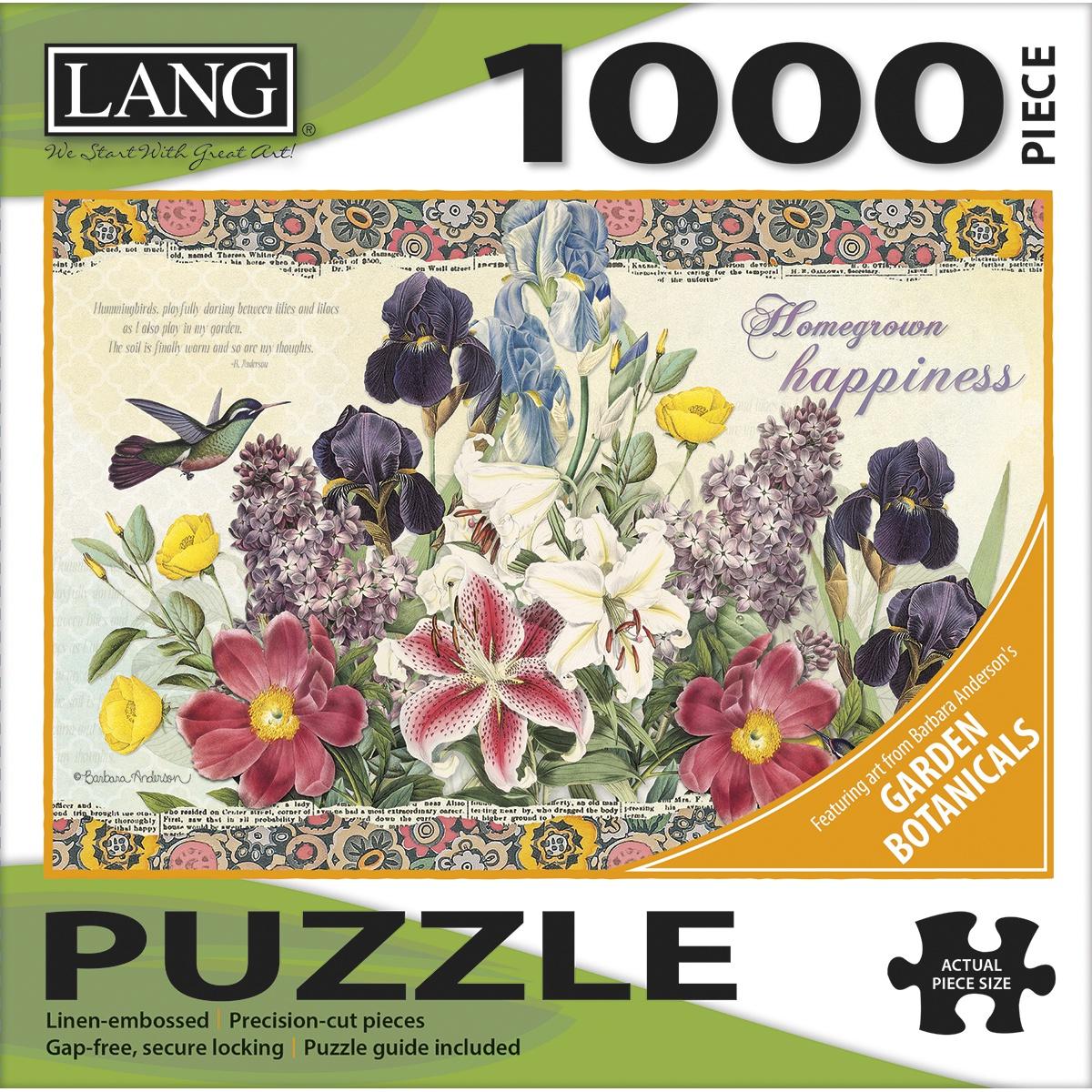 Jigsaw Puzzle 1000 Pieces - Garden Botanicals
