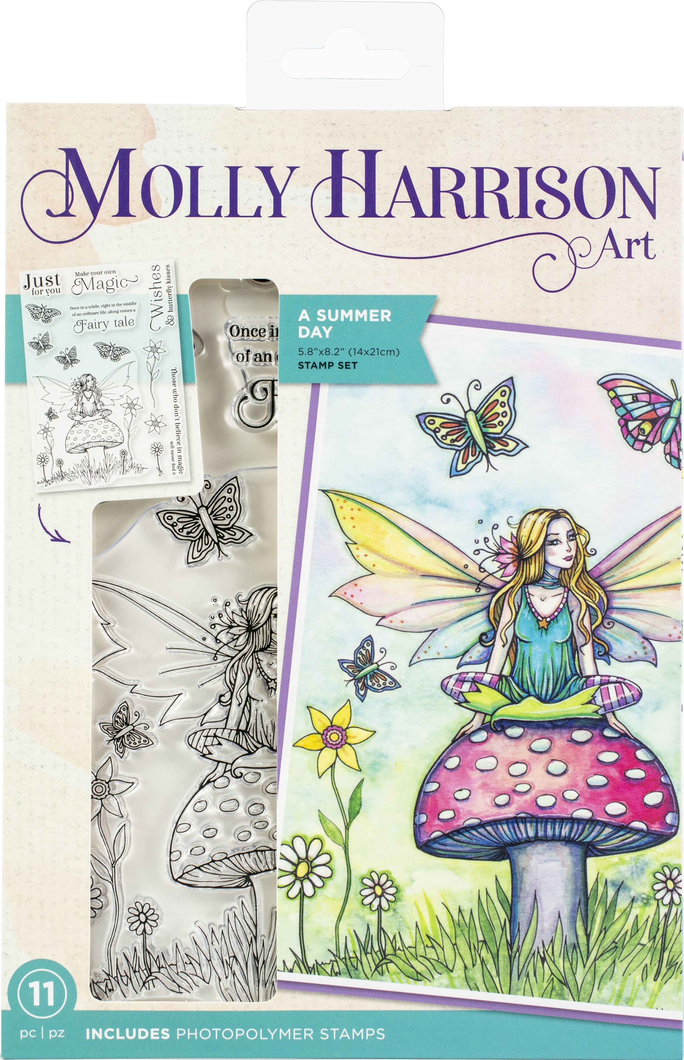 Crafter's Companion - A Summer Day By Molly Harrison