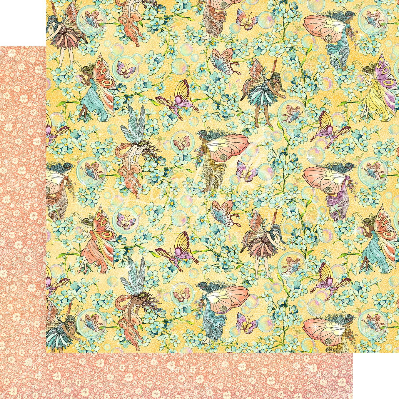 Fairie Wings Double-Sided Cardstock 12X12-Woodland Wishes