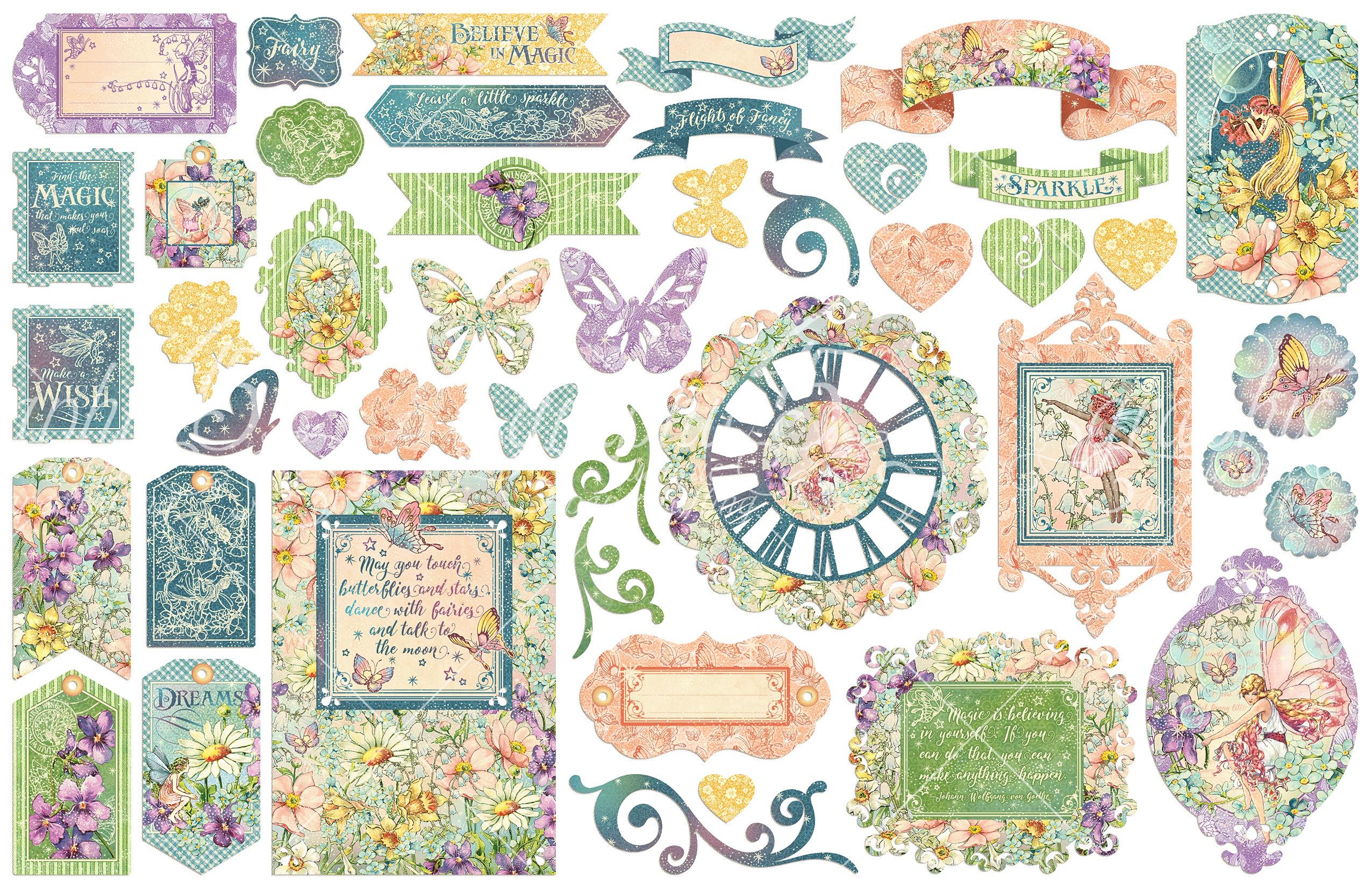 Fairie Wings Cardstock Die-Cut Assortment-