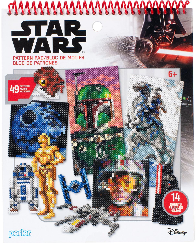 Perler Star Wars Fused Bead Pattern Pad-Star Wars