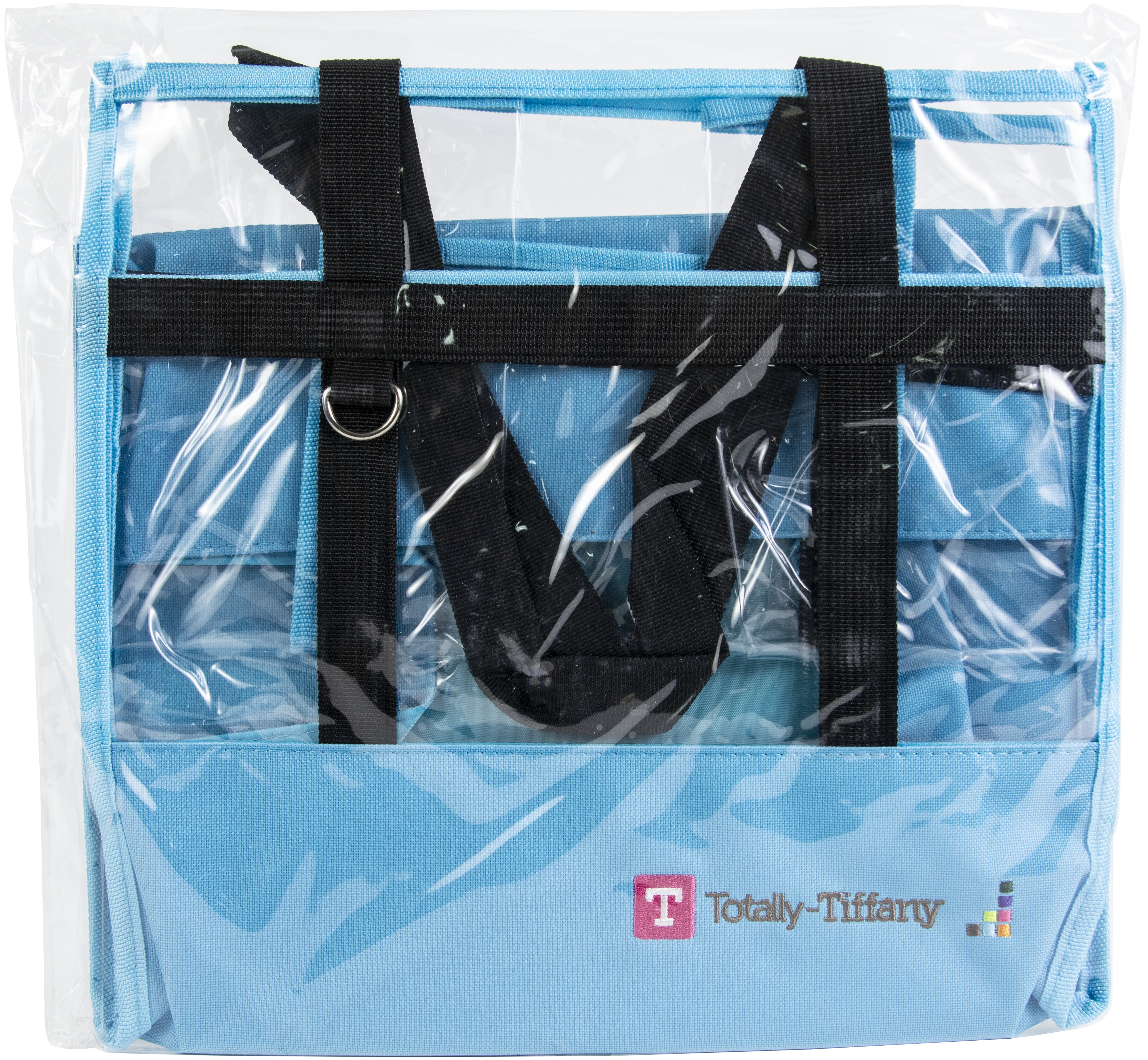 Totally-Tiffany Easy To Organize Buddy Bag Lois 2.0-Turquoise