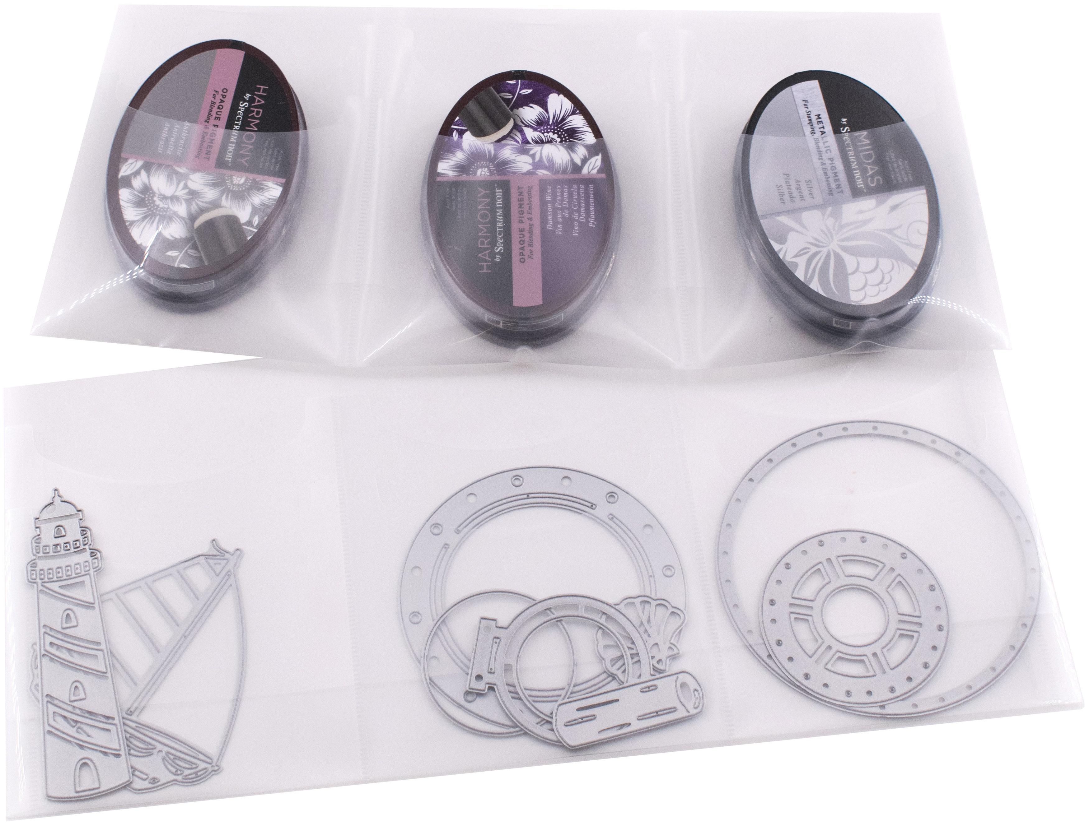 Totally-Tiffany Storage Cards 4/Pkg-Ala Carte 6 Pocket