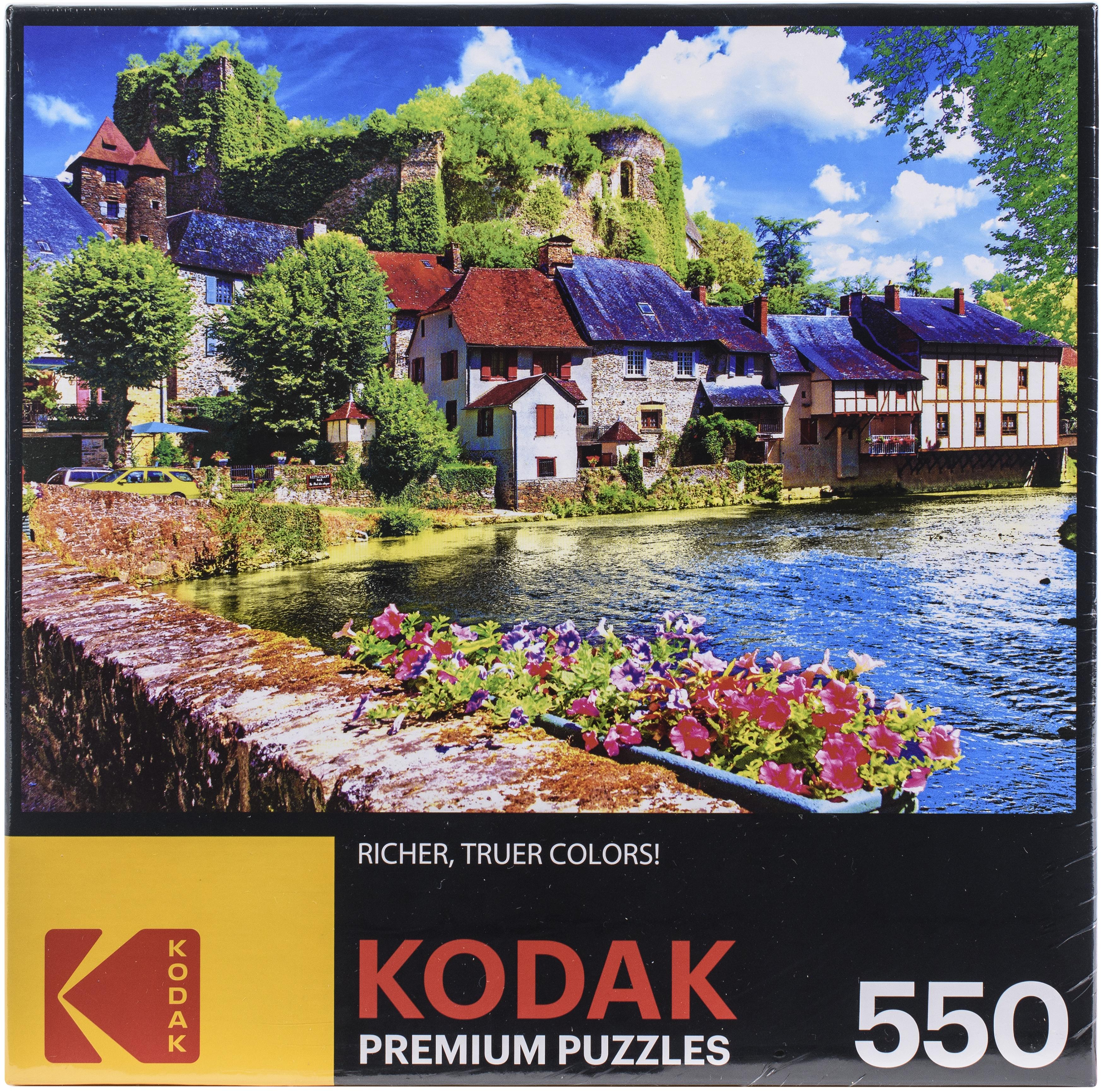 Premium Jigsaw Puzzle 550 Pieces - Auvezere River France