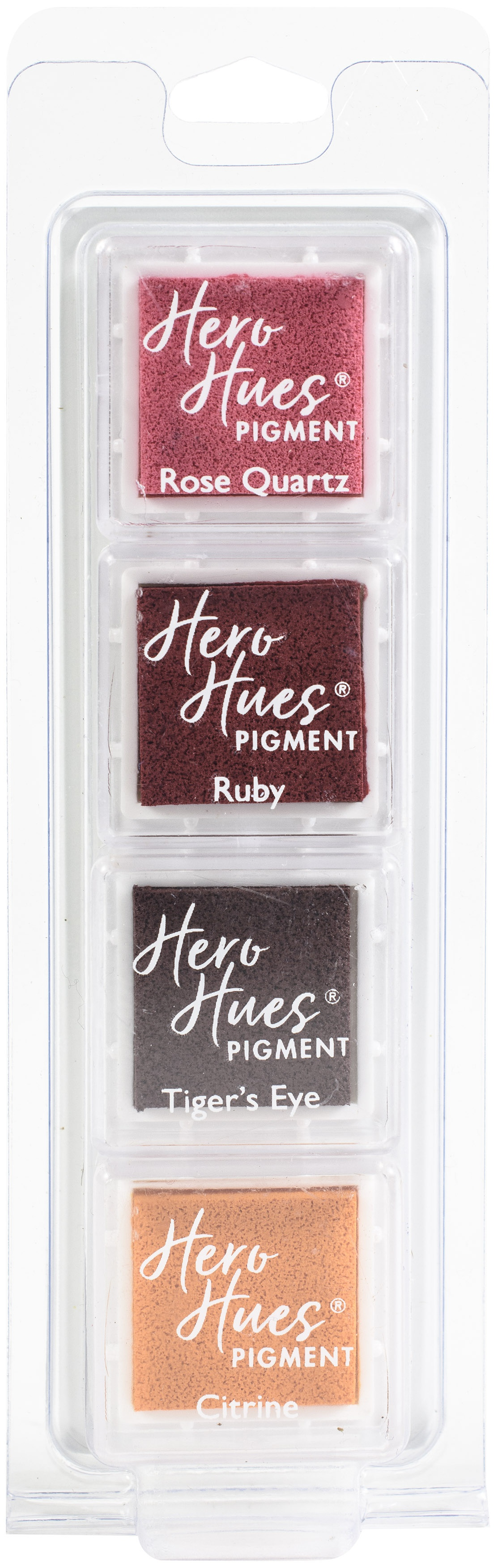 Hero Arts Hero Hues Pigment Ink Cubes 4/Pkg-Warm