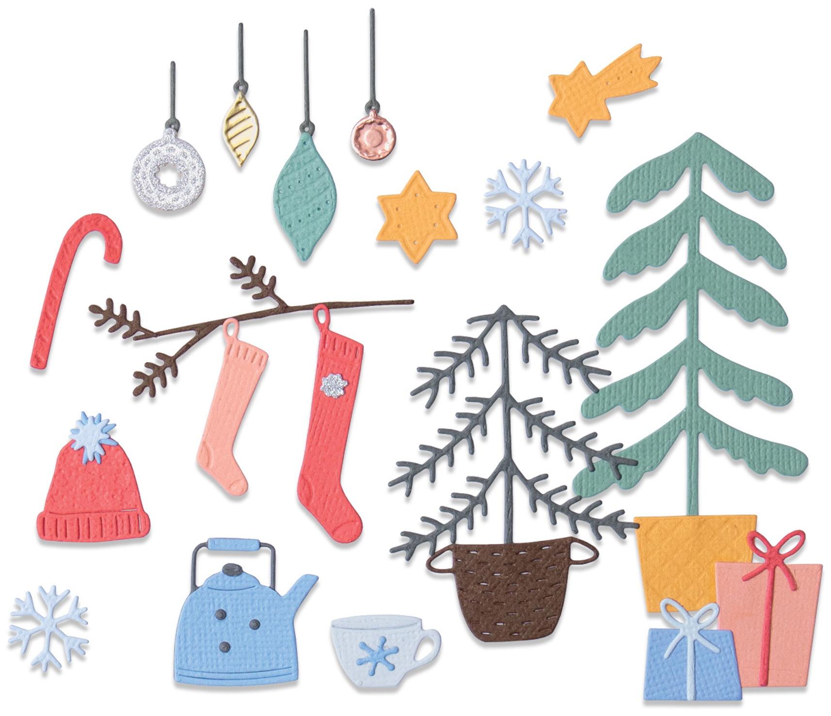 Sizzix Thinlits Dies By Olivia Rose 22/Pkg-Christmas Cheer