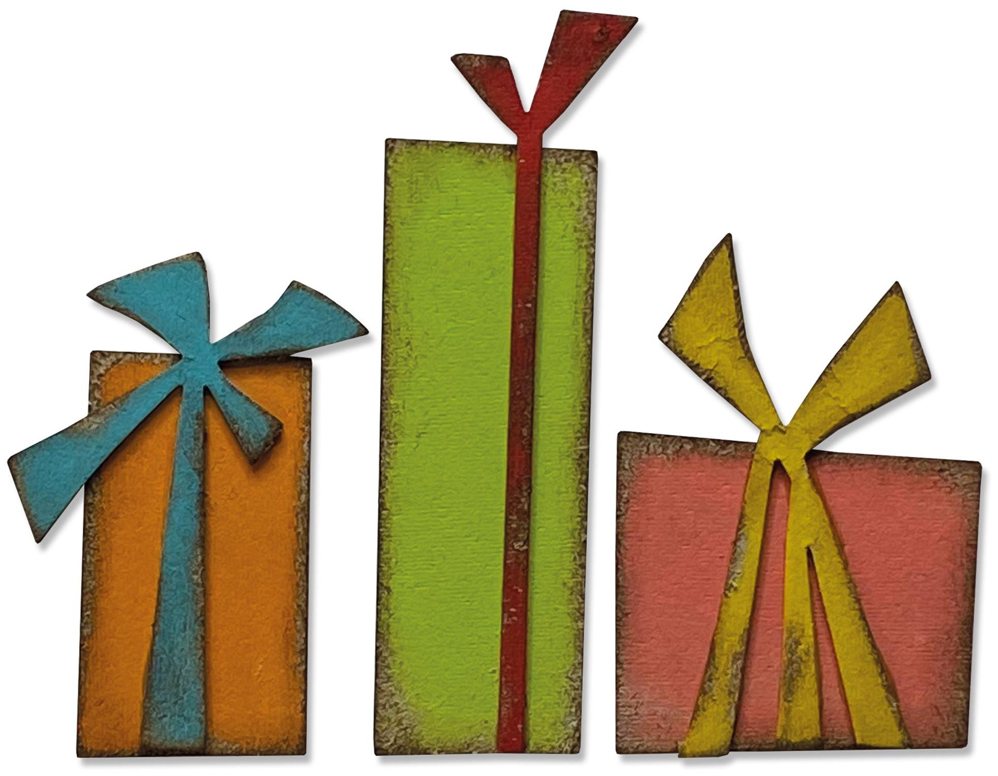 Sizzix Bigz Die By Tim Holtz-Gift Wrap
