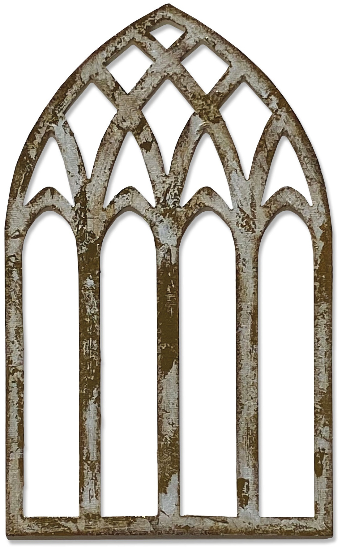 Sizzix Bigz Die By Tim Holtz-Cathedral Window