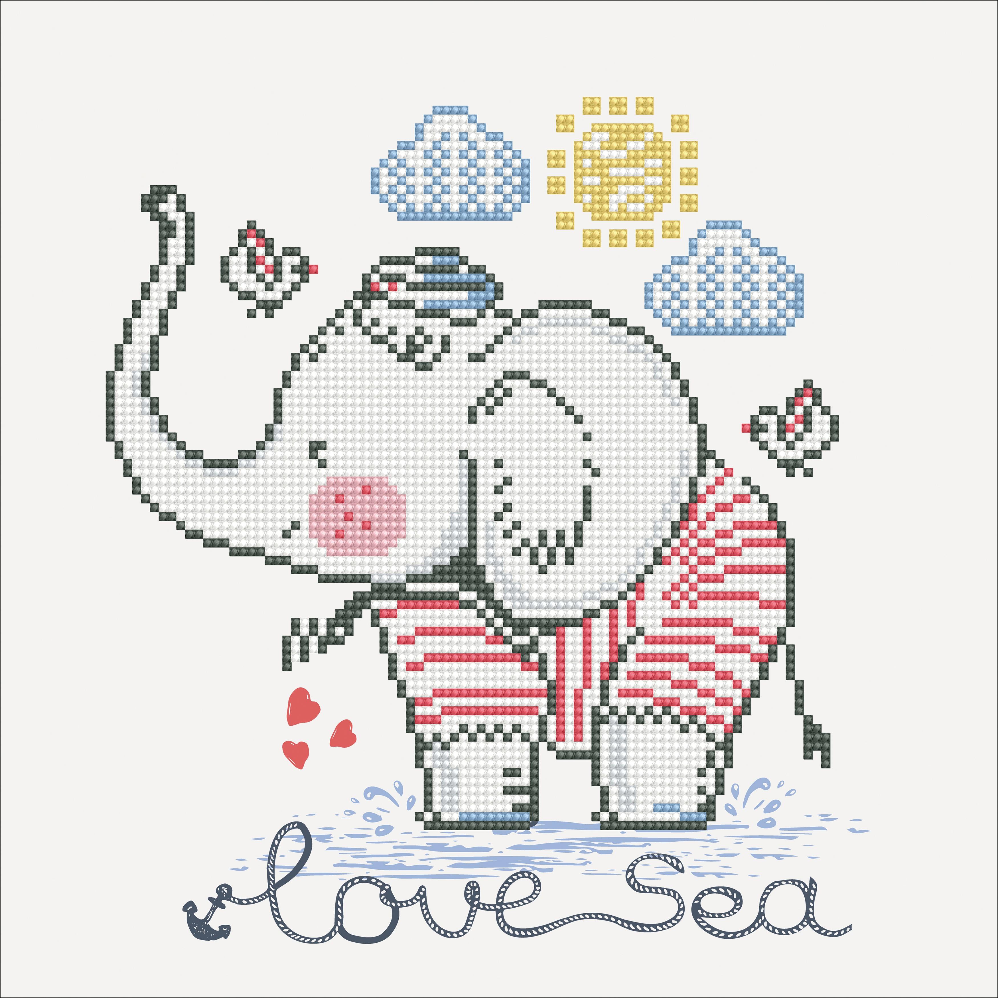 Diamond Dotz Diamond Embroidery Facet Art Kit 12X12-Love Sea