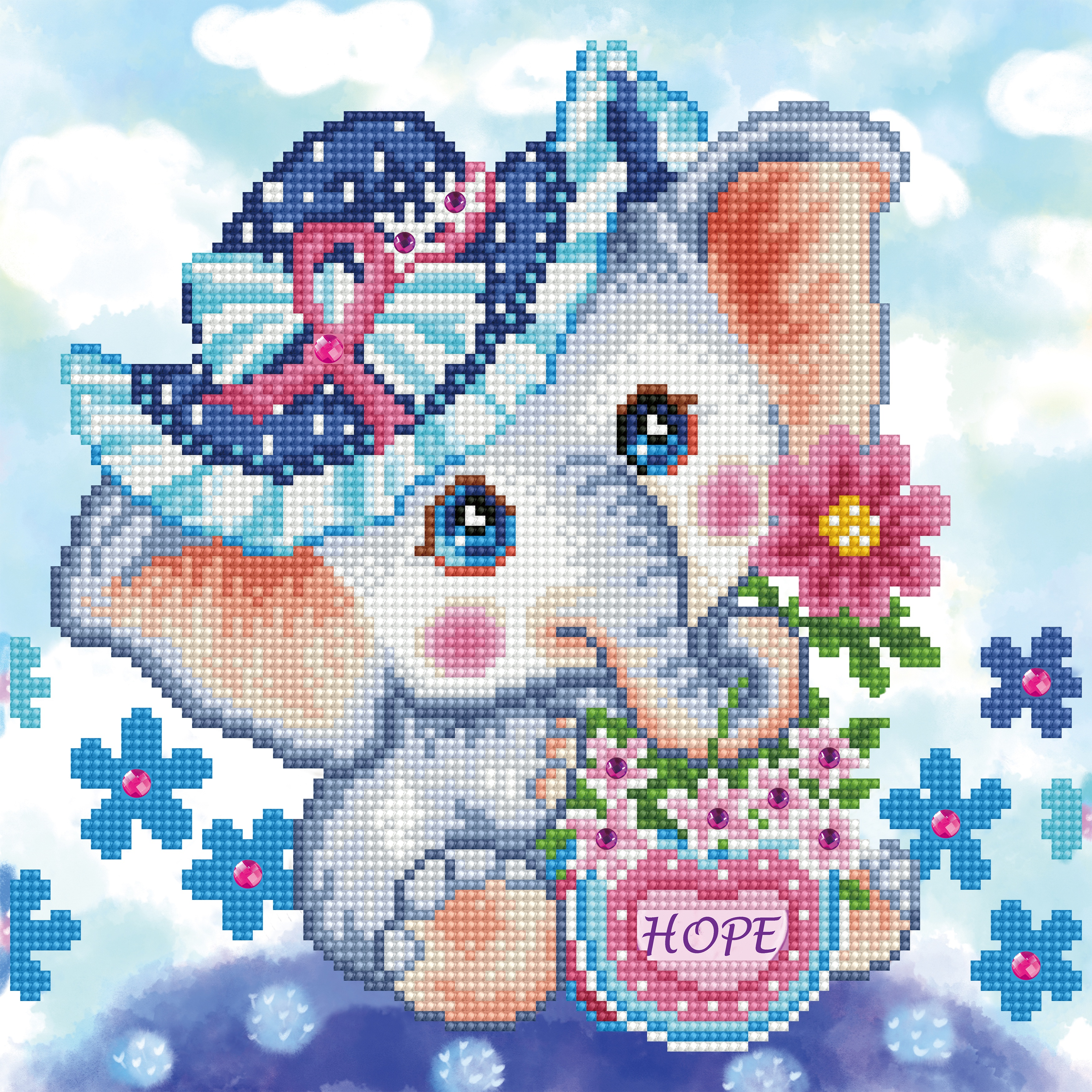 Diamond Dotz Diamond Embroidery Facet Art Kit 12X12-Hope