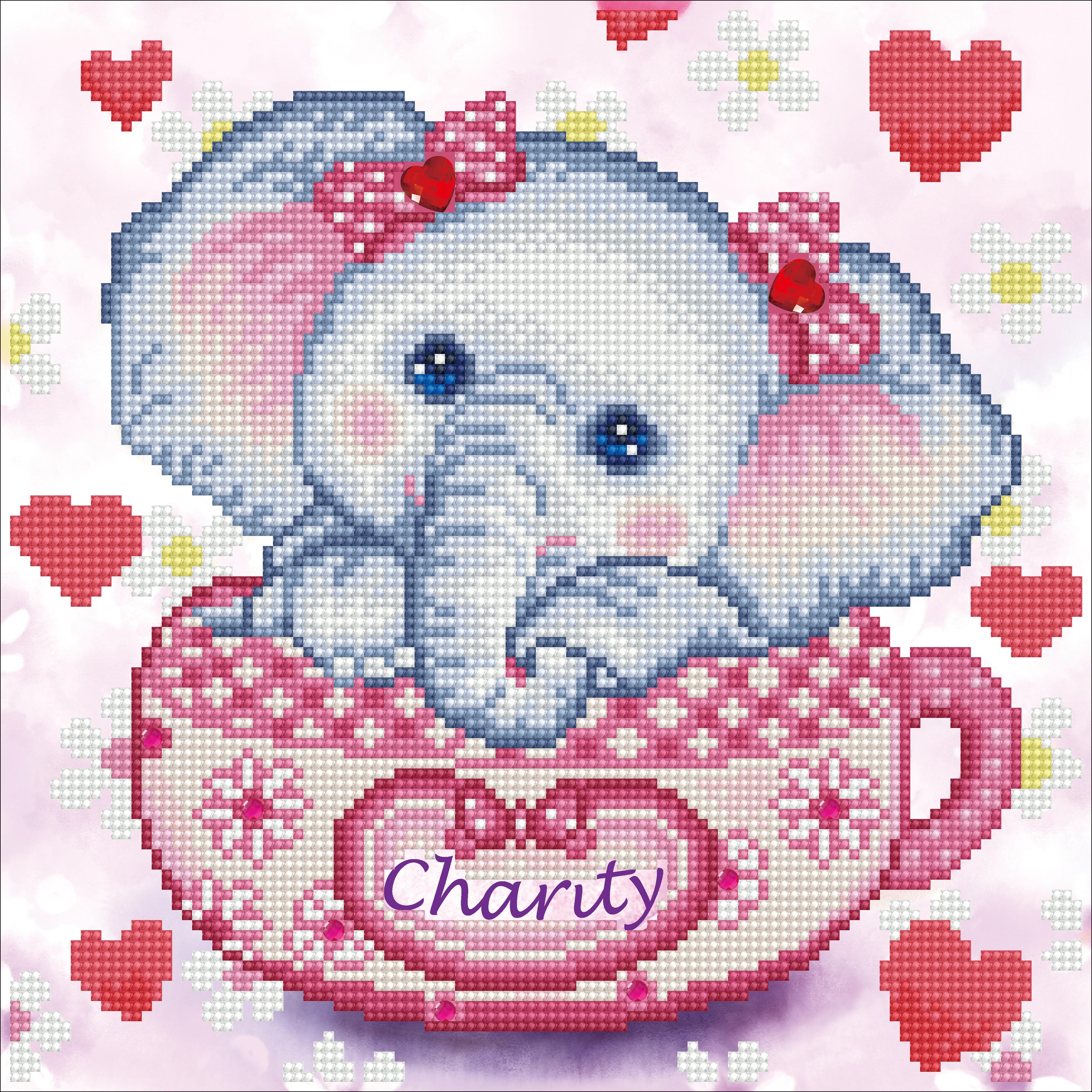 Diamond Dotz Diamond Embroidery Facet Art Kit 12X12-Charity