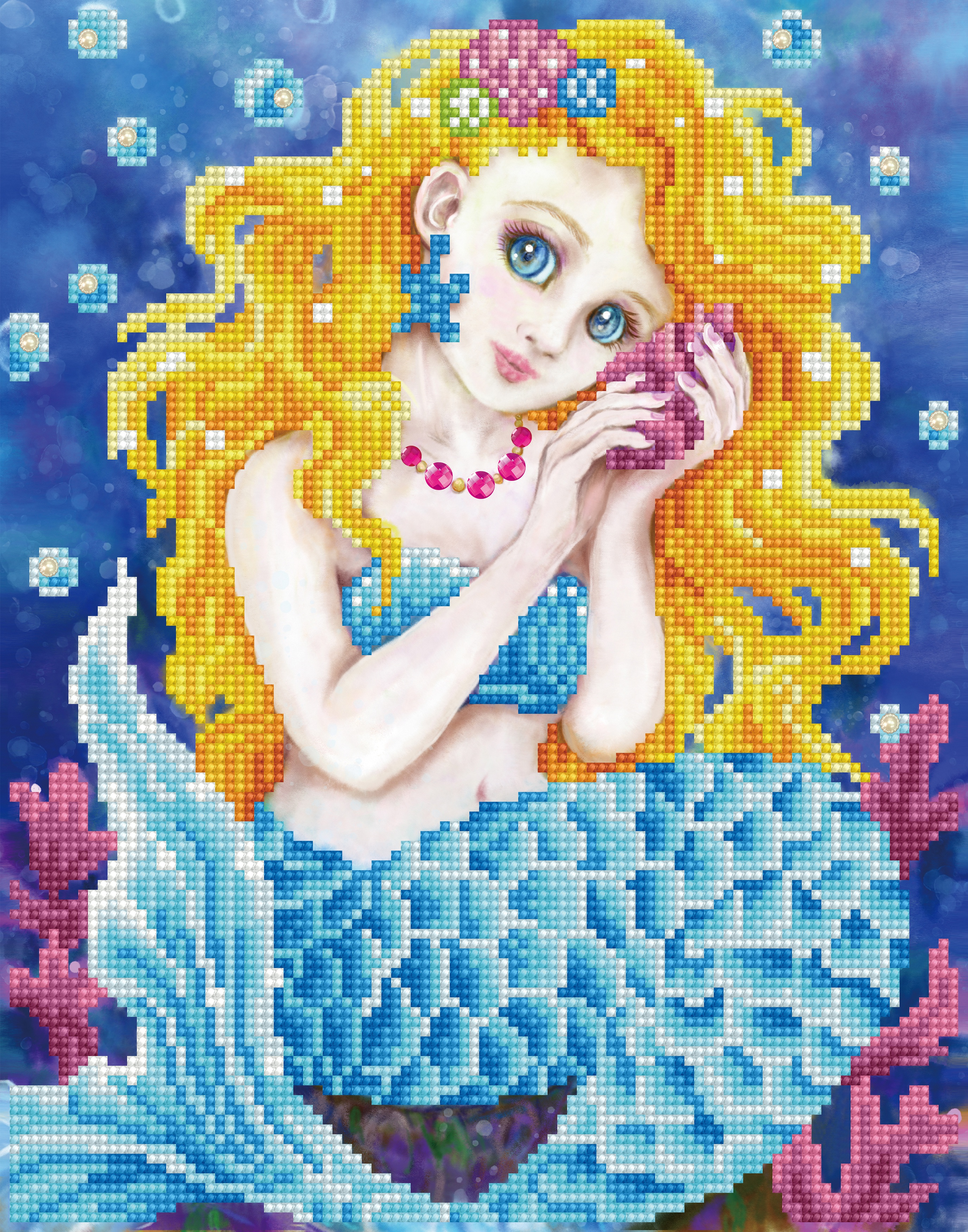 Diamond Dotz Diamond Embroidery Facet Art Kit 11X13-Sounds Of The Sea