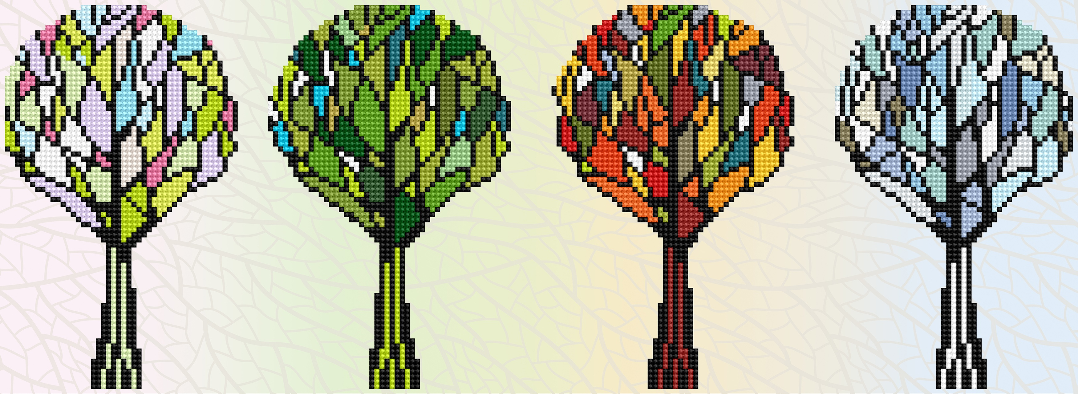 Diamond Dotz Diamond Embroidery Facet Art Kit 23X8-4 Seasons Sparkle