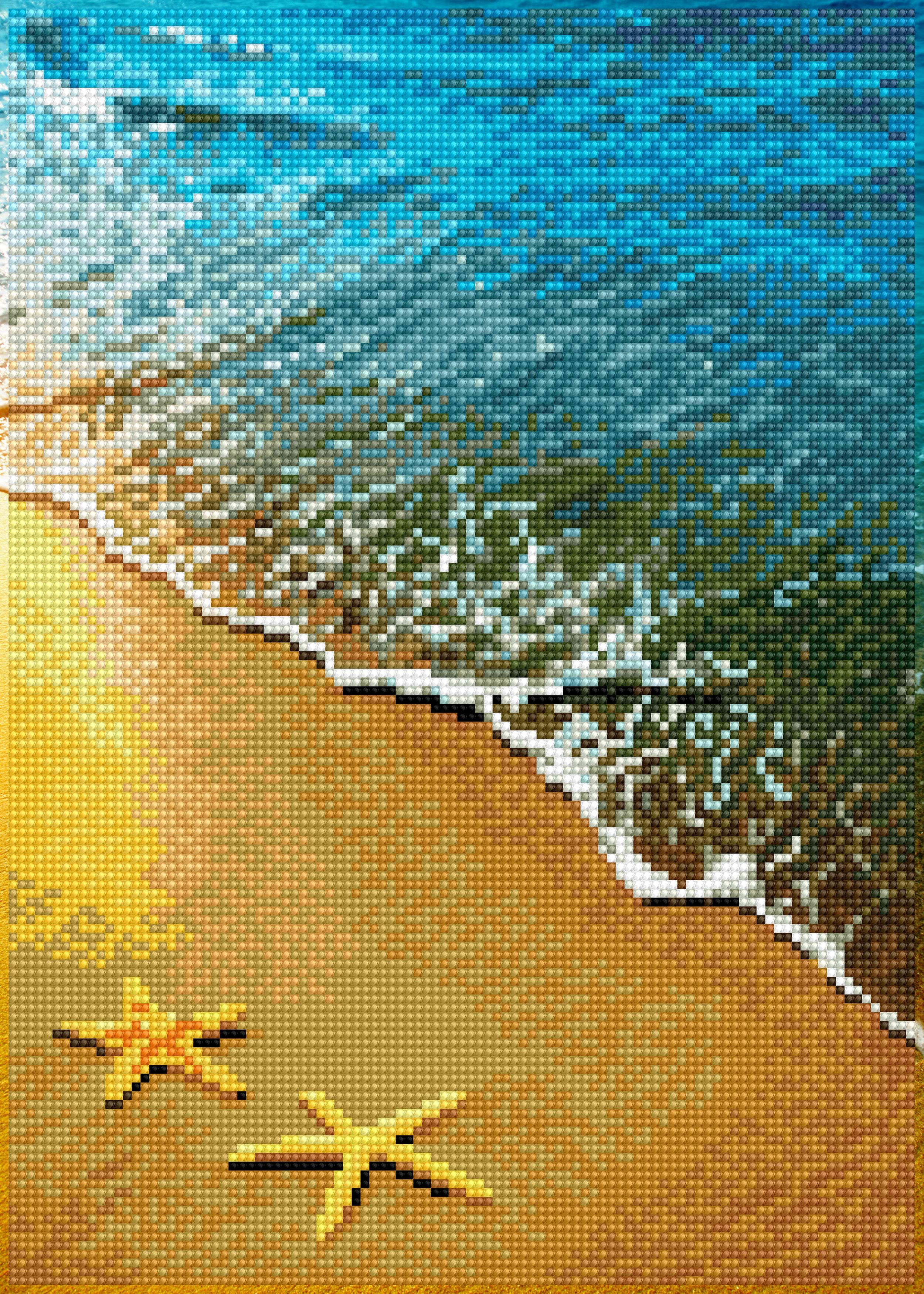 Diamond Dotz Diamond Embroidery Facet Art Kit 11X16-Summer Dreams