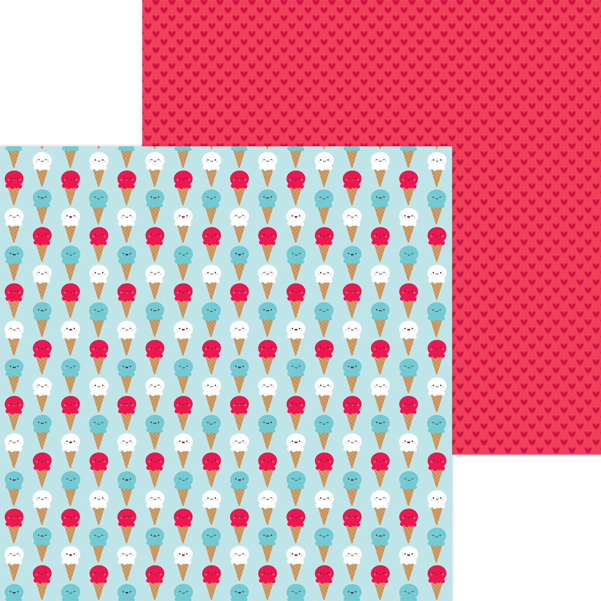 Land That I Love Double-Sided Cardstock 12X12-Cool Summer