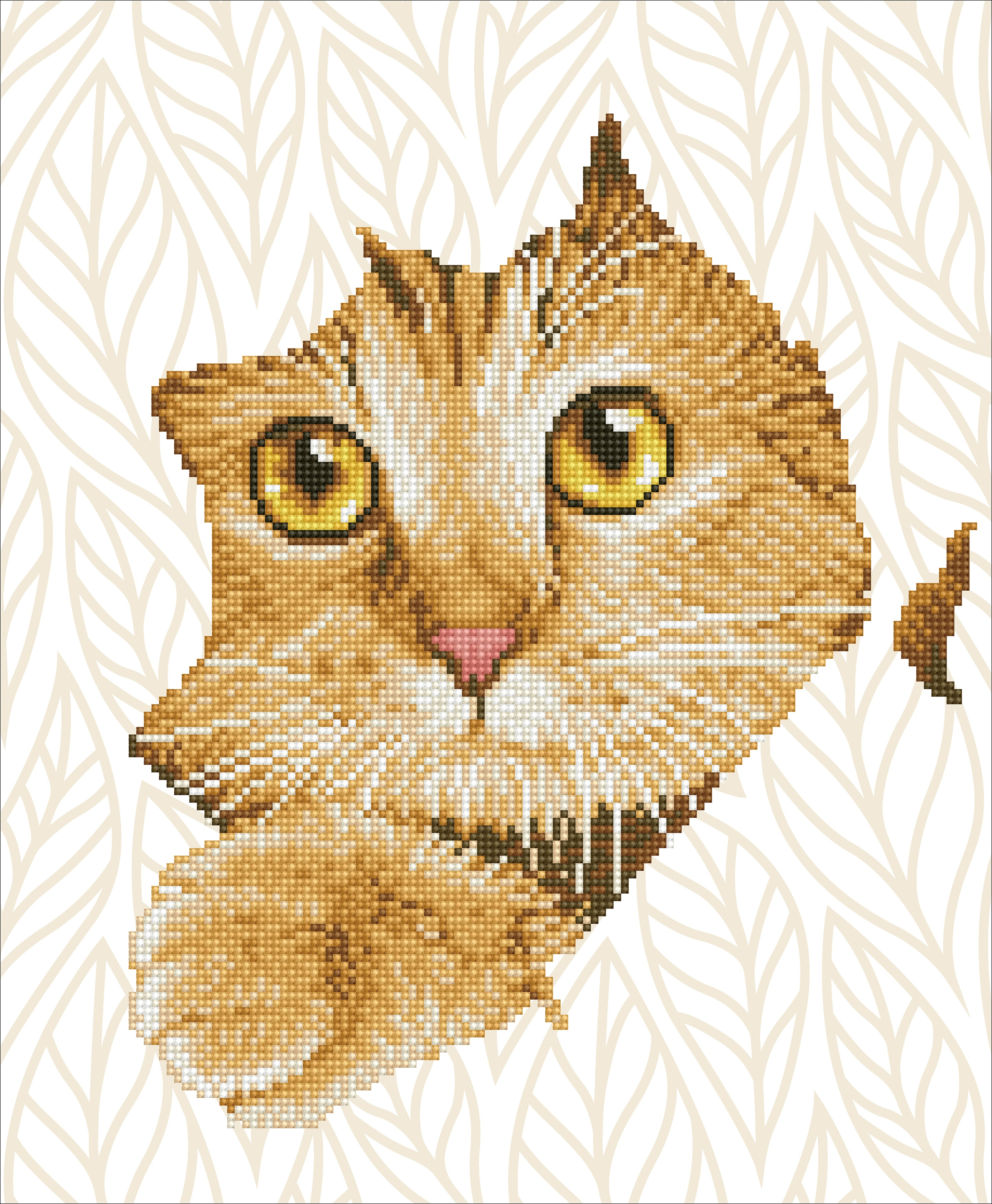 Diamond Dotz Diamond Embroidery Facet Art Kit 14X17-Kitten Peek