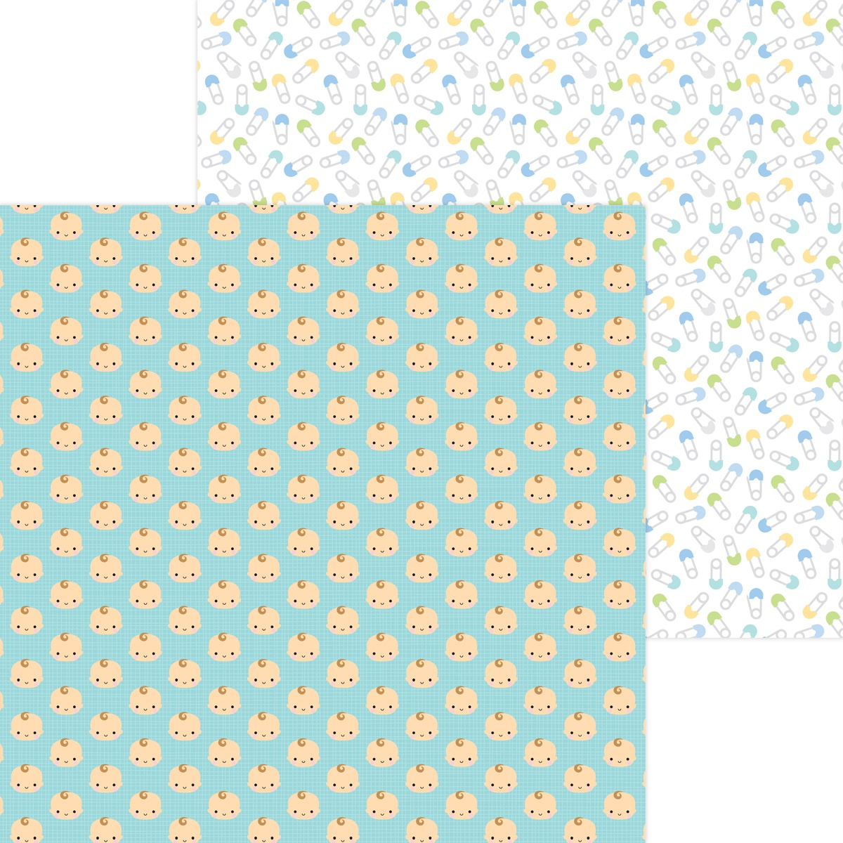 Special Delivery Double-Sided Cardstock 12X12-Baby Boy