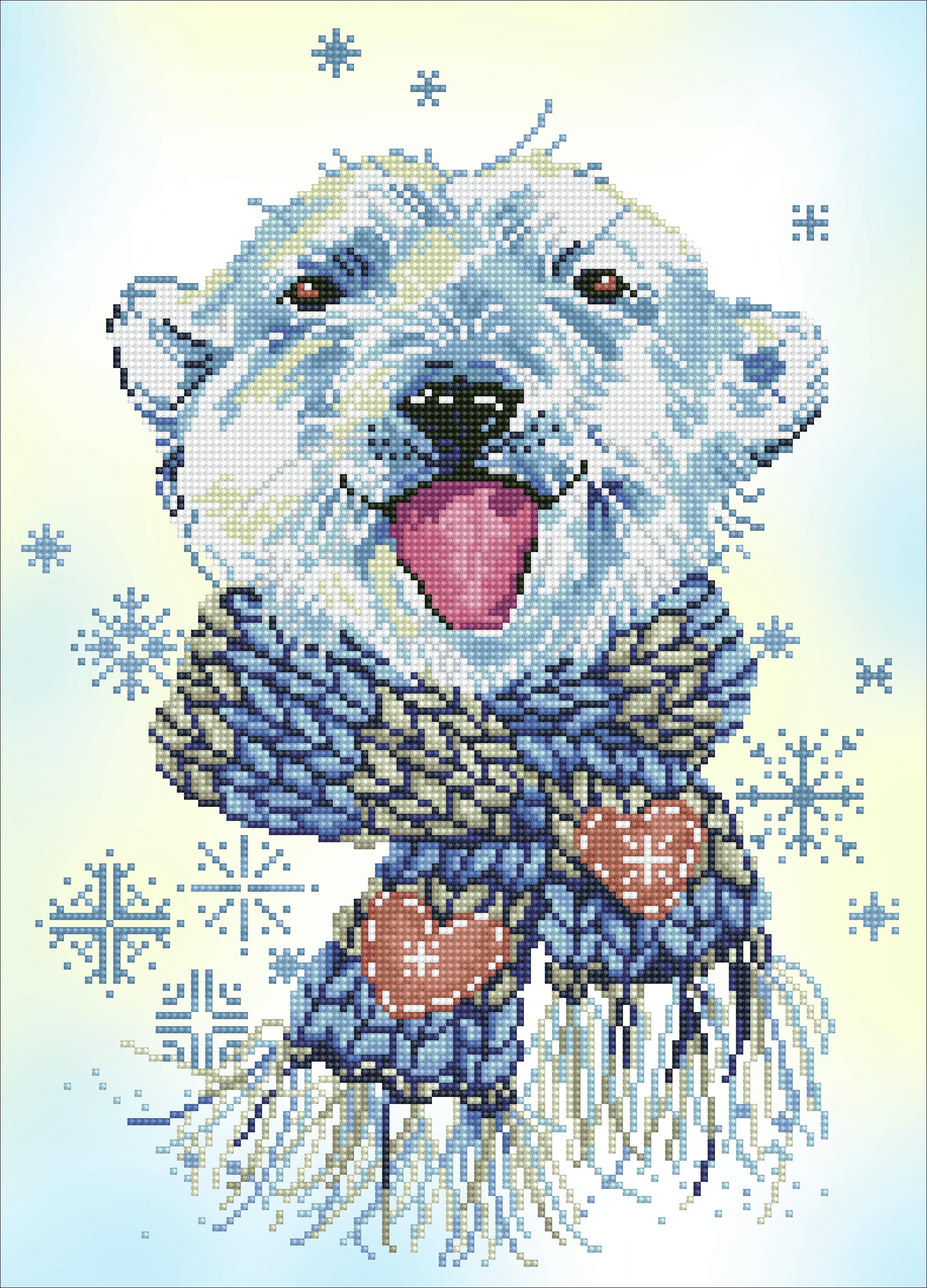 Diamond Dotz Diamond Embroidery Facet Art Kit 14X20-Polar Dude