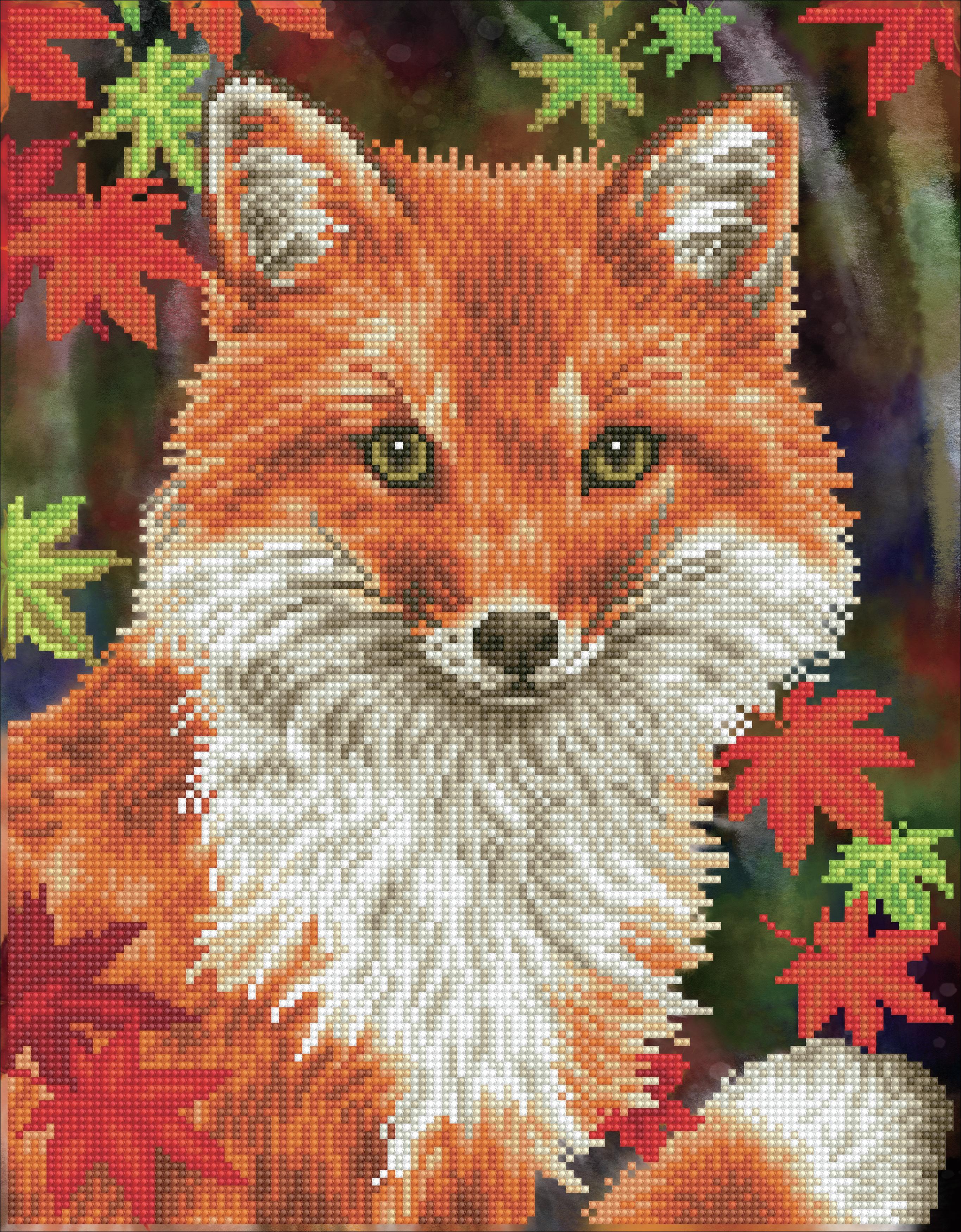 Diamond Dotz Diamond Embroidery Facet Art Kit 13X17-Foxy
