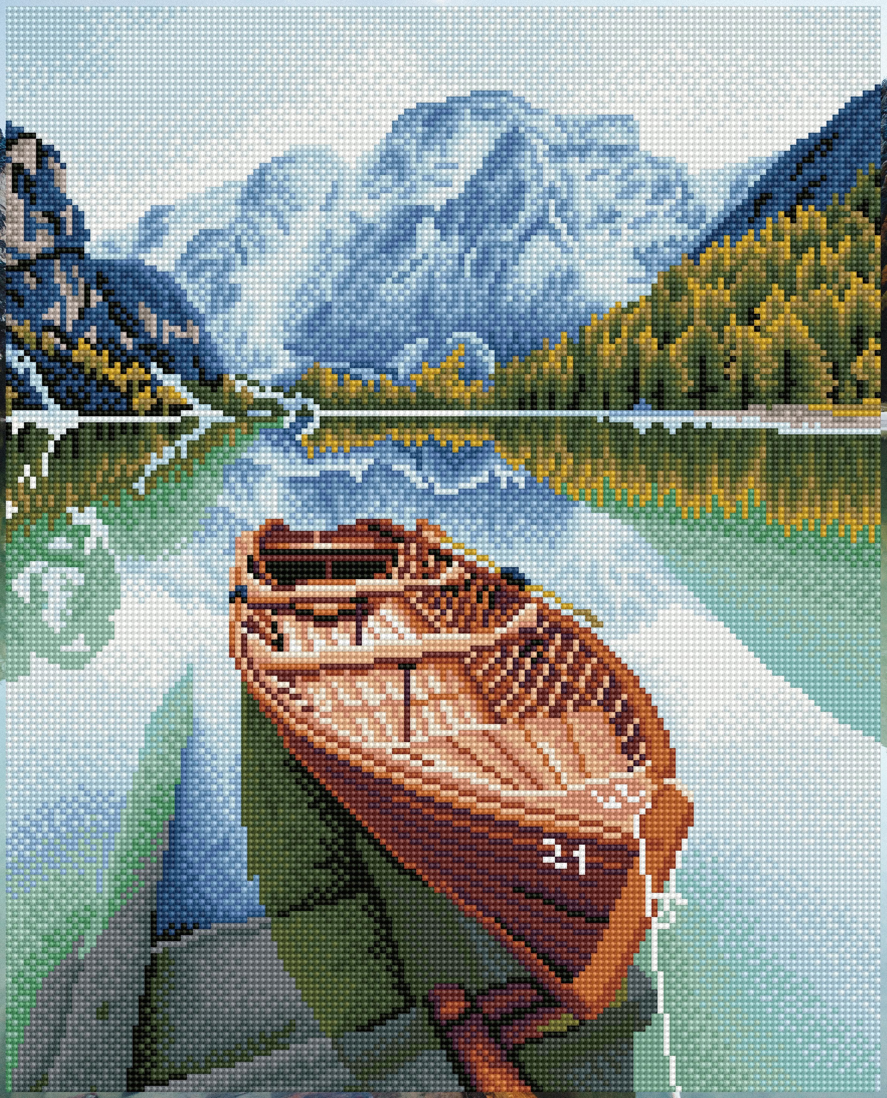 Diamond Dotz Diamond Embroidery Facet Art Kit 16X20-Fjord Travel
