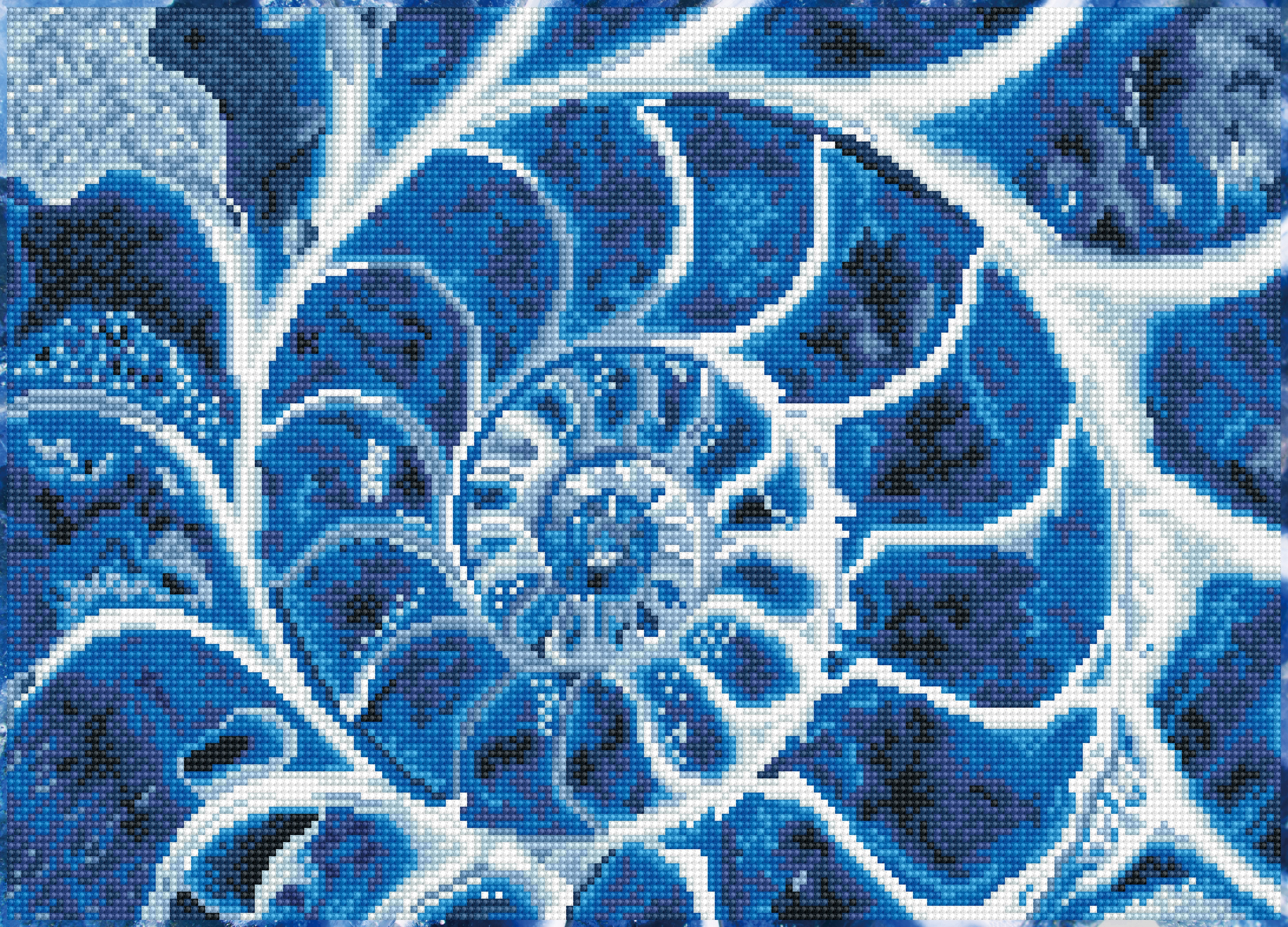 Diamond Dotz Diamond Embroidery Facet Art Kit 20X14-Blue Nautilus