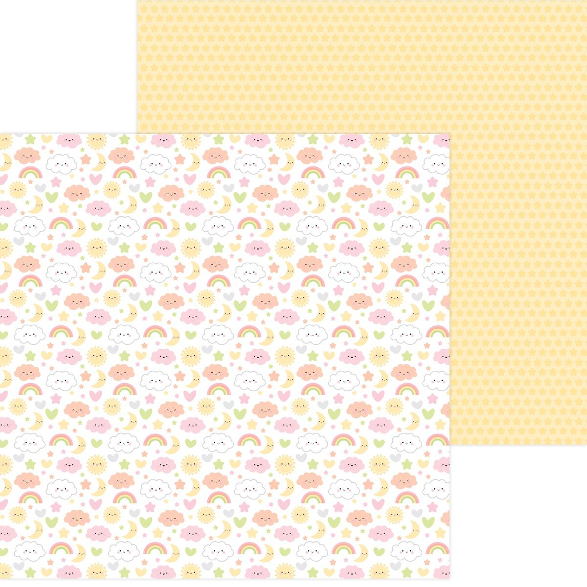 Doodlebug Bundle Of Joy Double-Sided Cardstock 12x12- Sweet Dreams