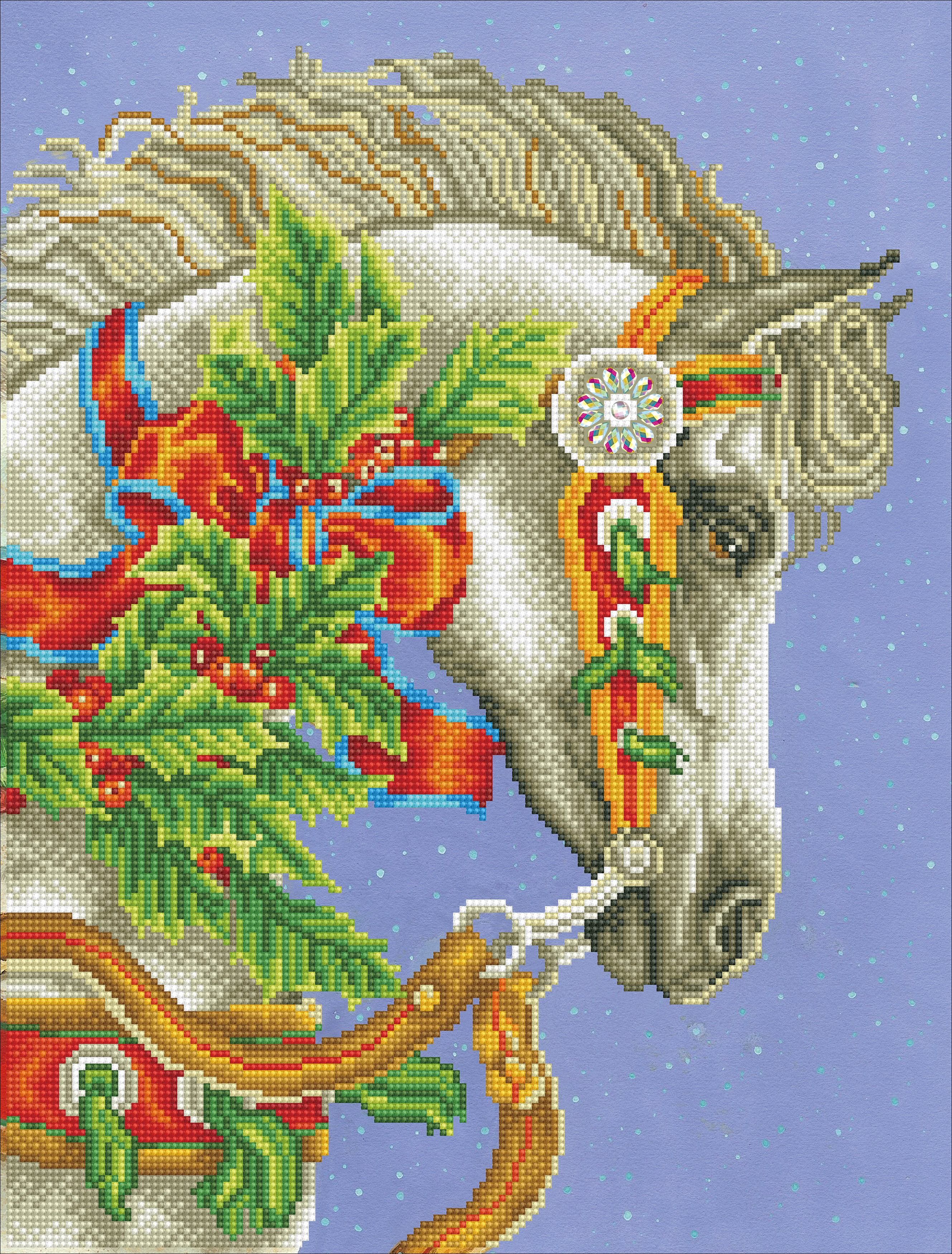 Diamond Dotz Diamond Embroidery Facet Art Kit 16X21-Festive Canter