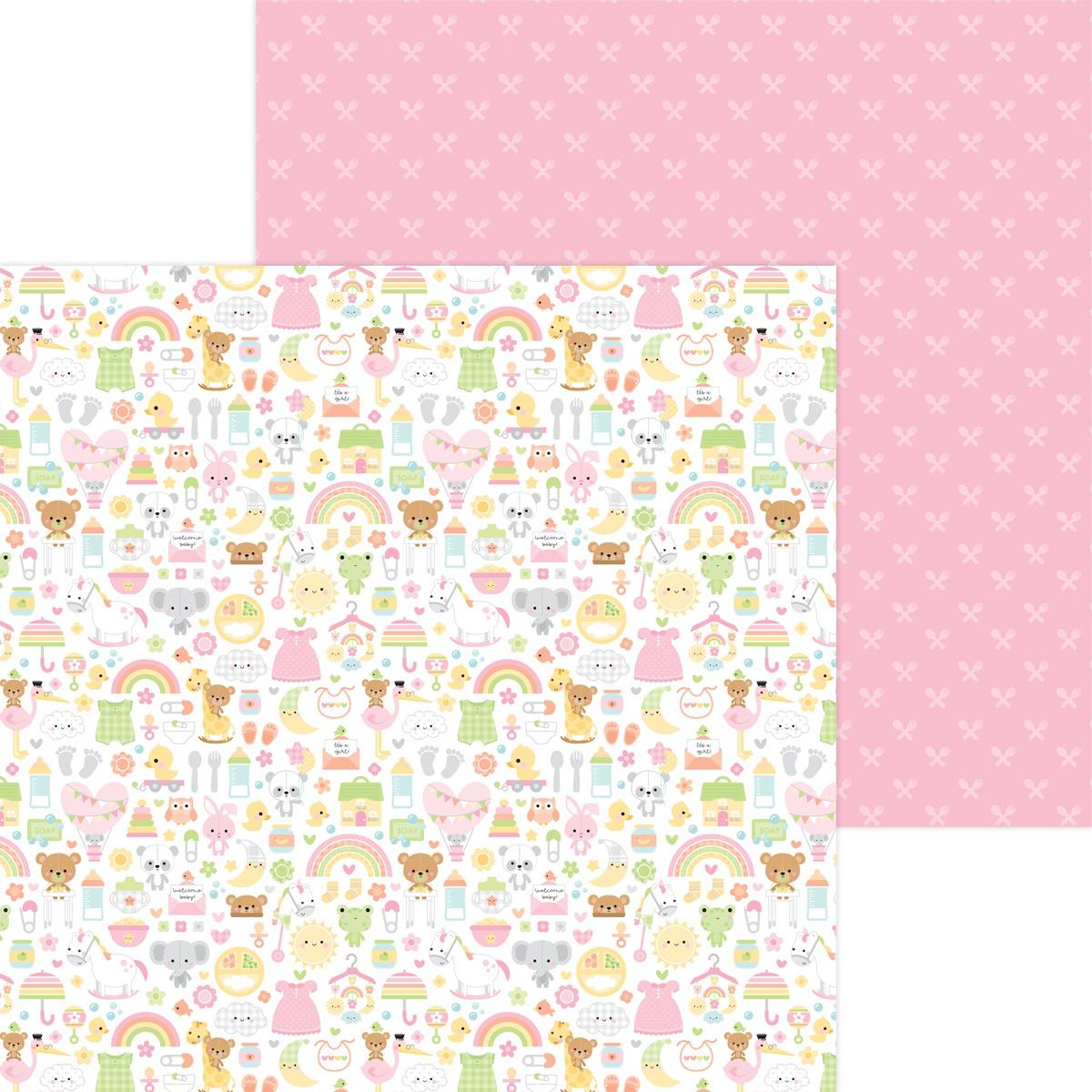 Bundle Of Joy Double-Sided Cardstock 12X12-Bundle Of Joy