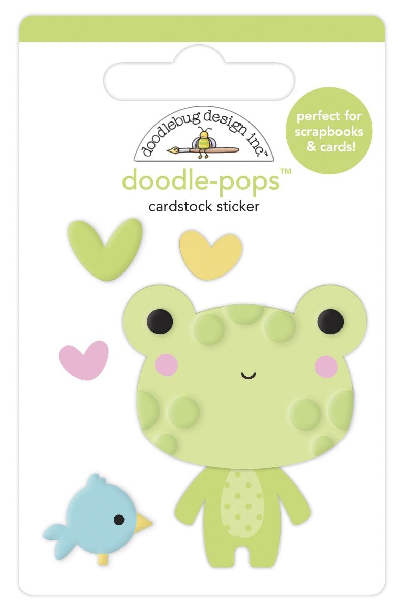 Doodlebug Doodle-Pops 3D Stickers-Hoppy Day, Bundle Of Joy