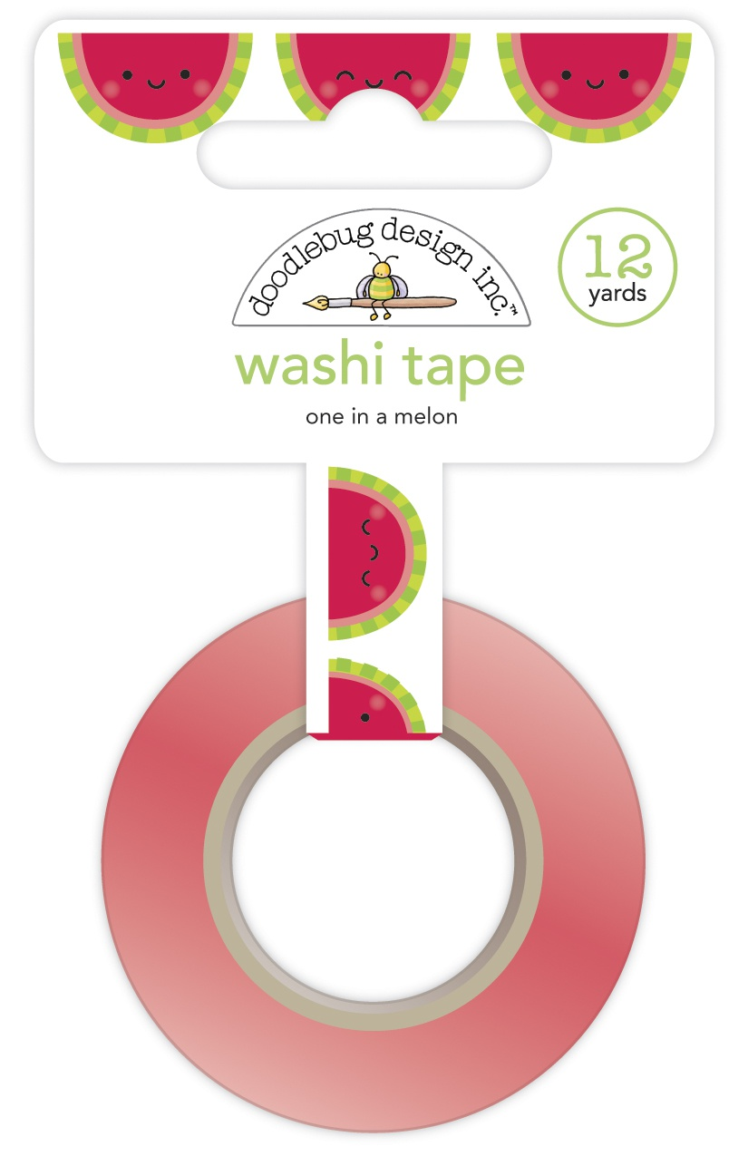 Doodlebug Washi Tape - One In A Melon