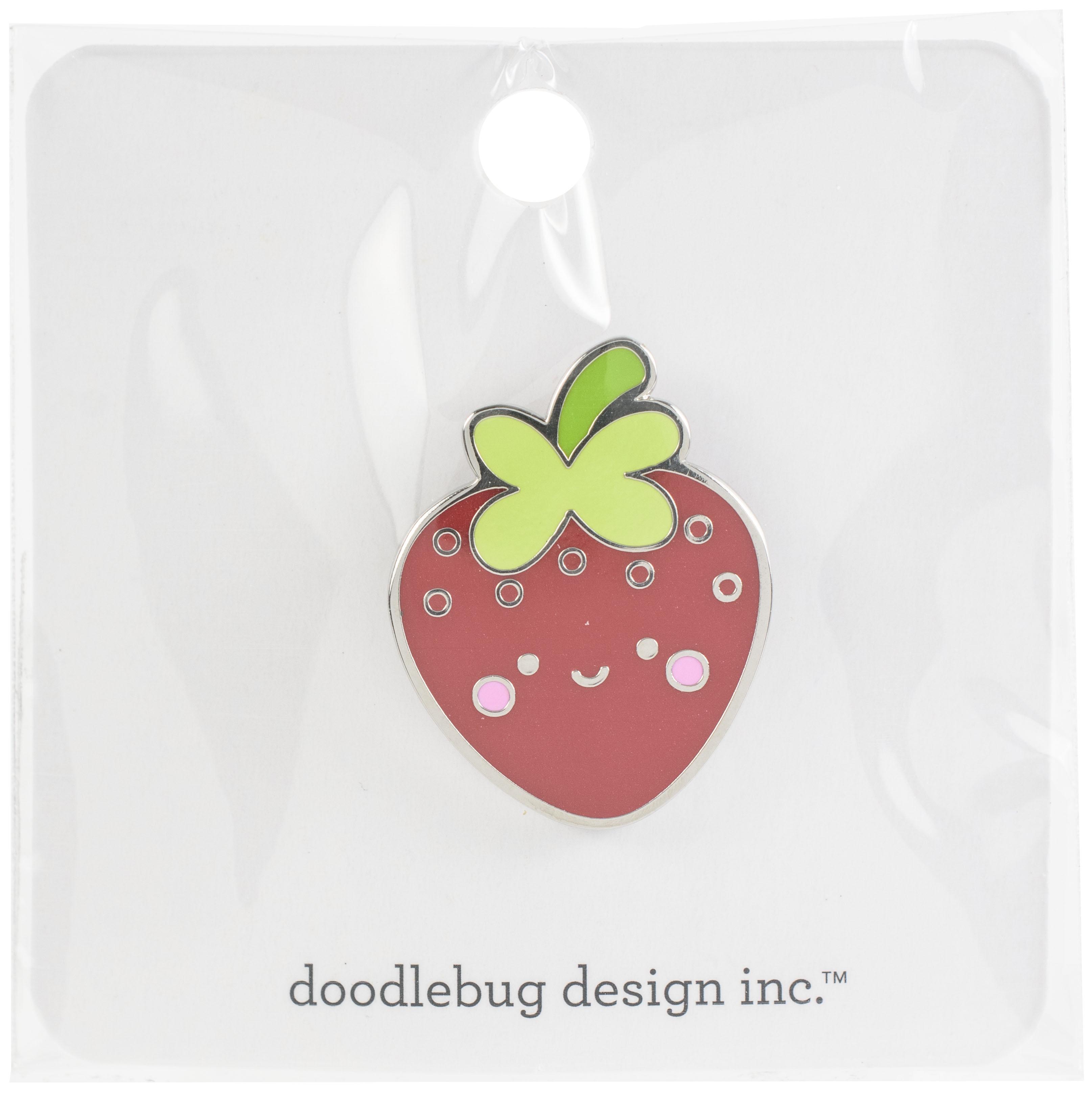 Doodlebug Collectible Enamel Pin - Berry Cute