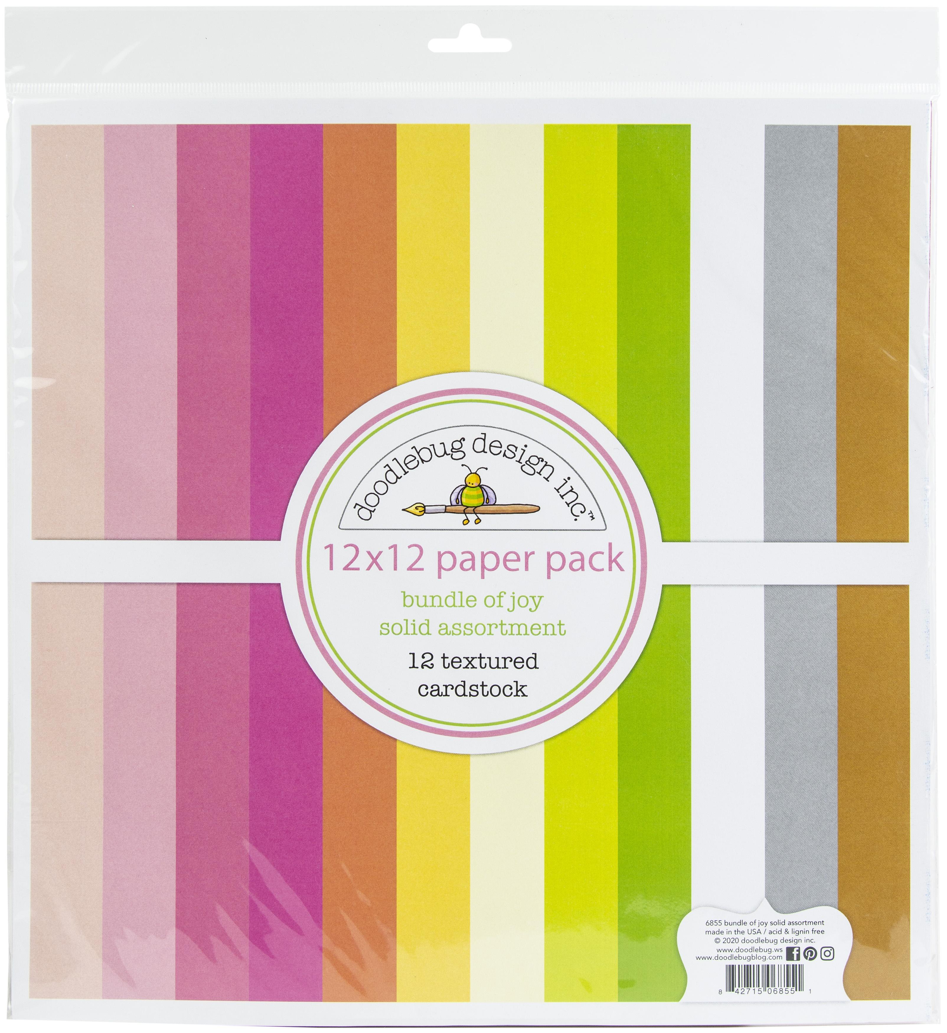 Bundle of Joy Textured Cardstock Pack