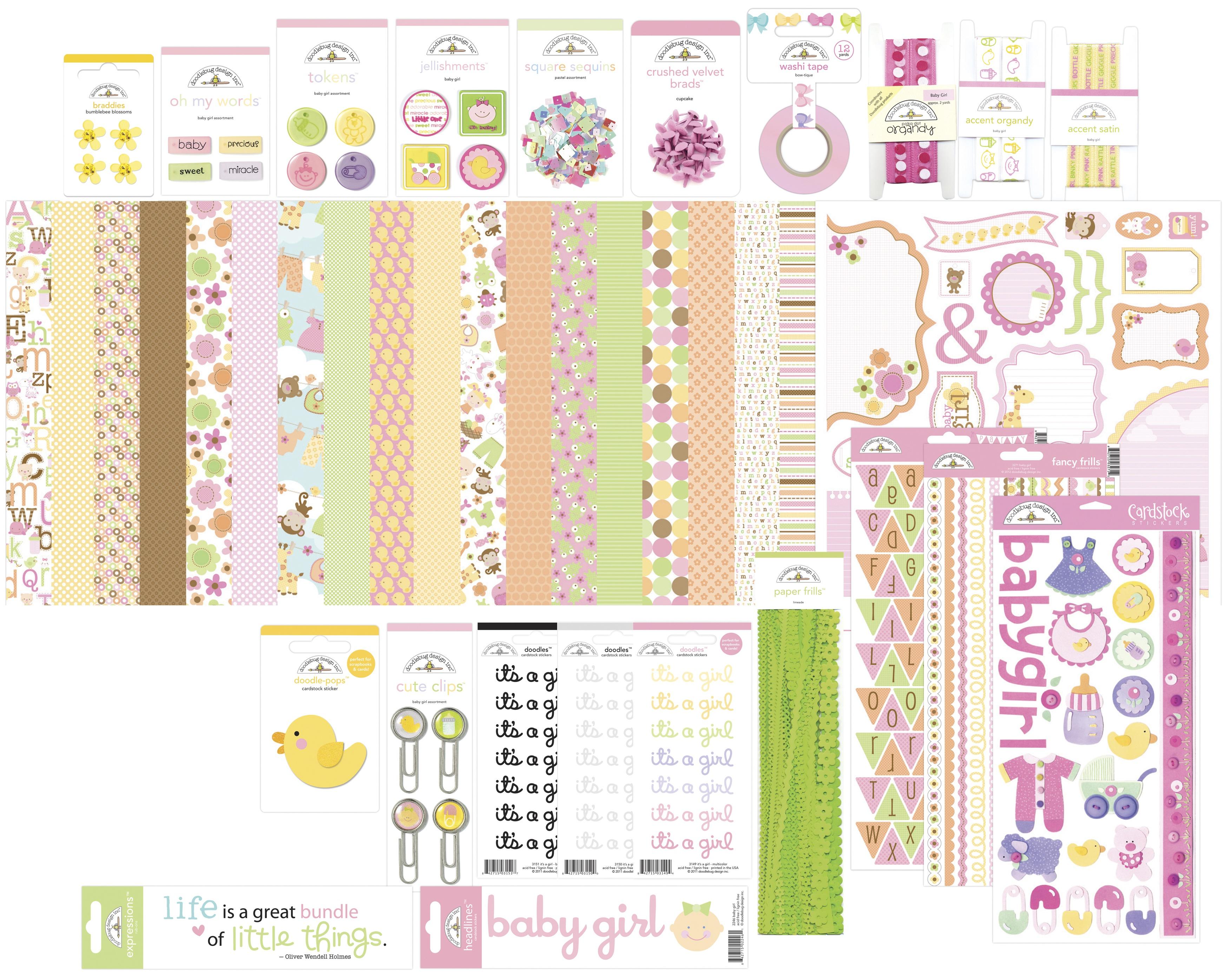 Bundle of Joy Value Bundle-Baby Girl