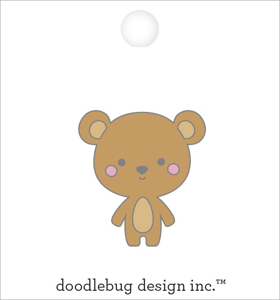 Special Delivery Baby Bear Collectible Pin