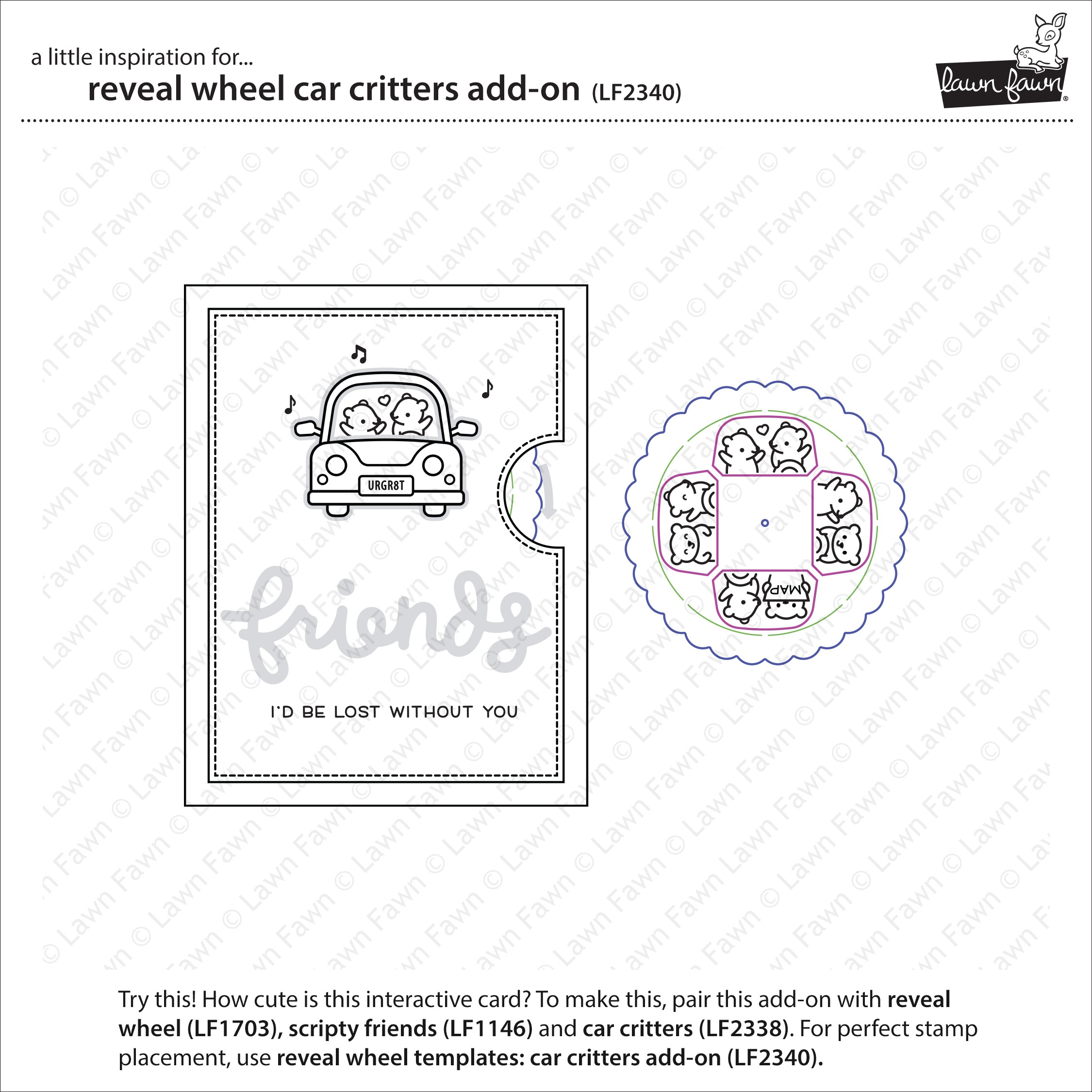 RW Car Critters Add On Die