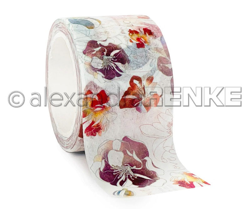 Alexandra Renke Washi Tape 40mmX10m-Blossom Experience, Music