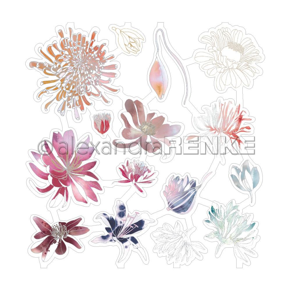 Alexandra Renke Music Paper Laser-Cuts-Music Blossoms